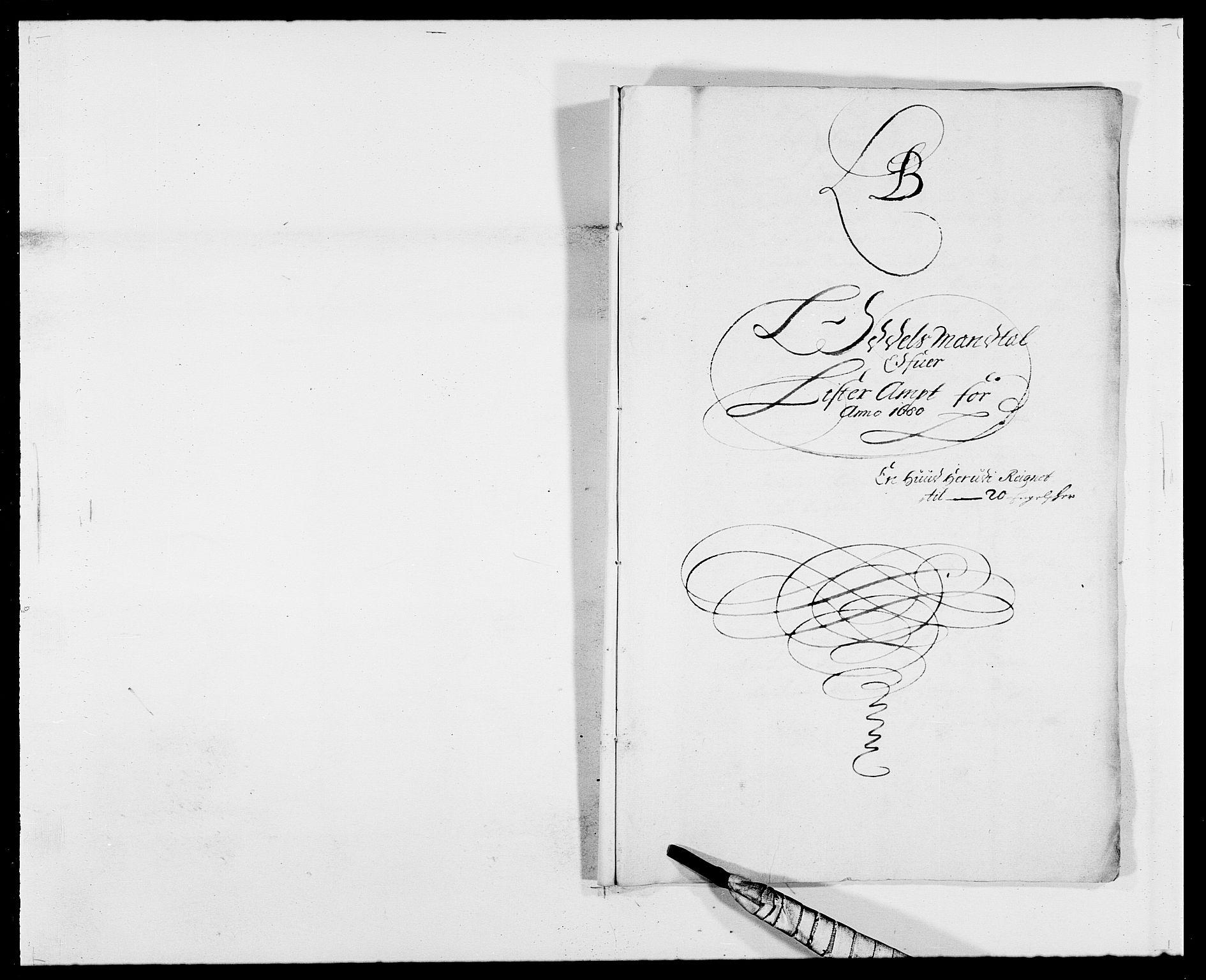 RA, Rentekammeret inntil 1814, Reviderte regnskaper, Fogderegnskap, R41/L2531: Fogderegnskap Lista, 1680-1682, s. 45