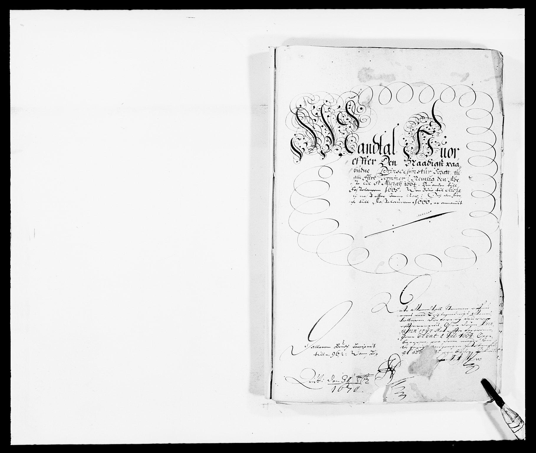 RA, Rentekammeret inntil 1814, Reviderte regnskaper, Fogderegnskap, R35/L2056: Fogderegnskap Øvre og Nedre Telemark, 1665, s. 256