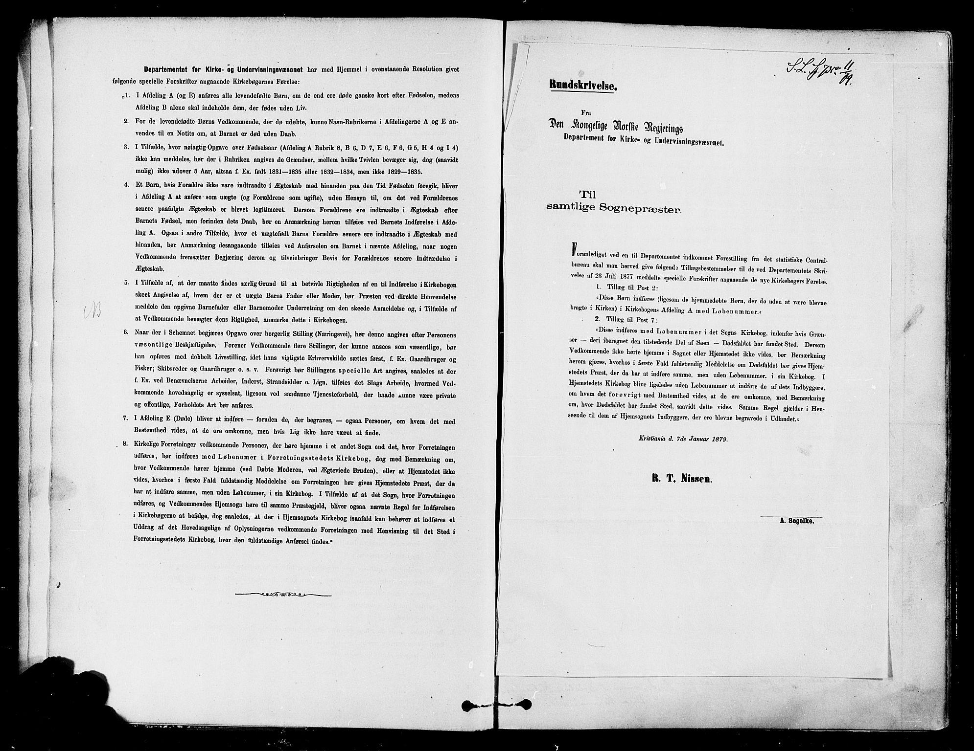SAH, Søndre Land prestekontor, K/L0002: Ministerialbok nr. 2, 1878-1894