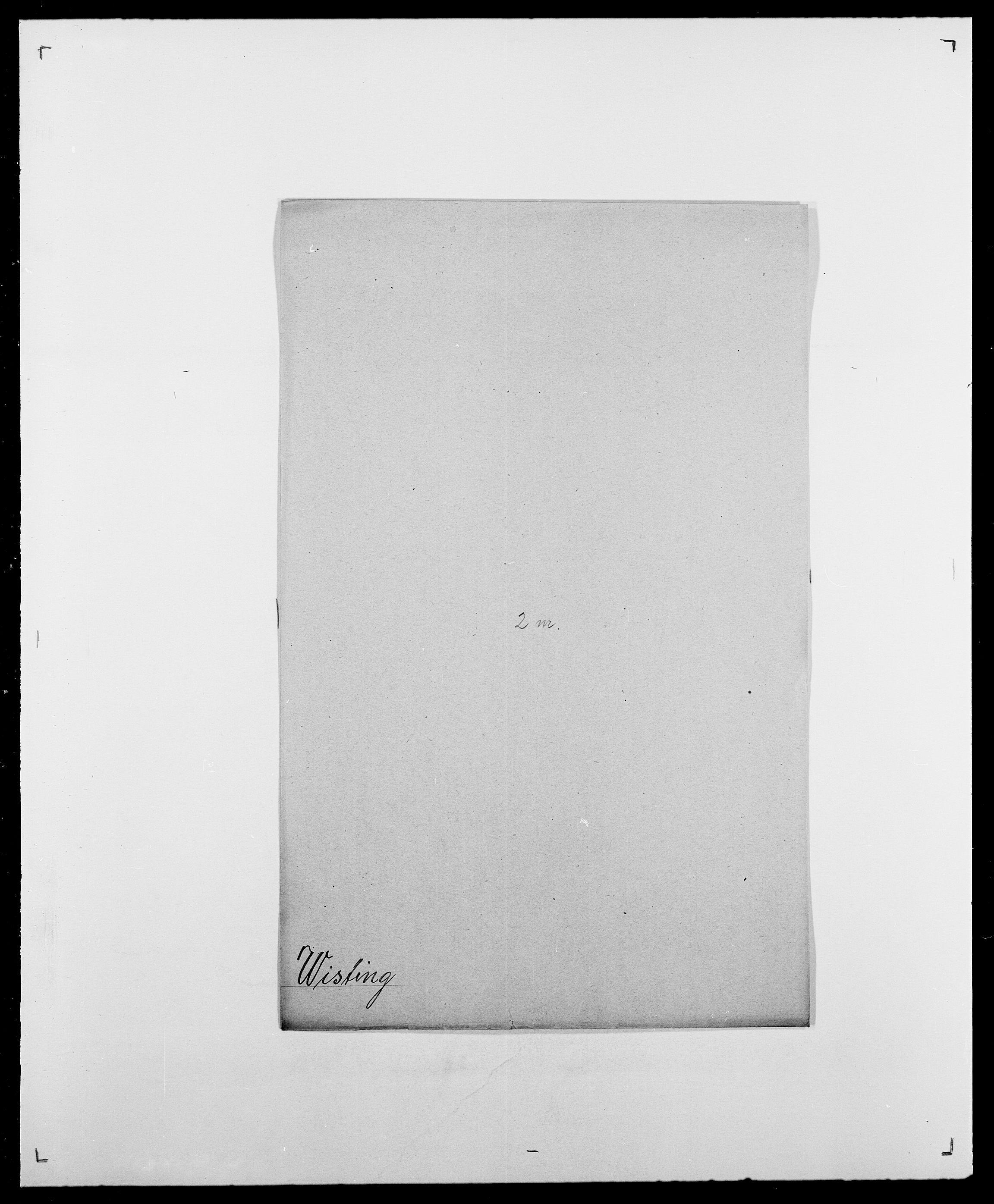 SAO, Delgobe, Charles Antoine - samling, D/Da/L0042: Vilain - Wulf, Wulff, se også Wolf, s. 414