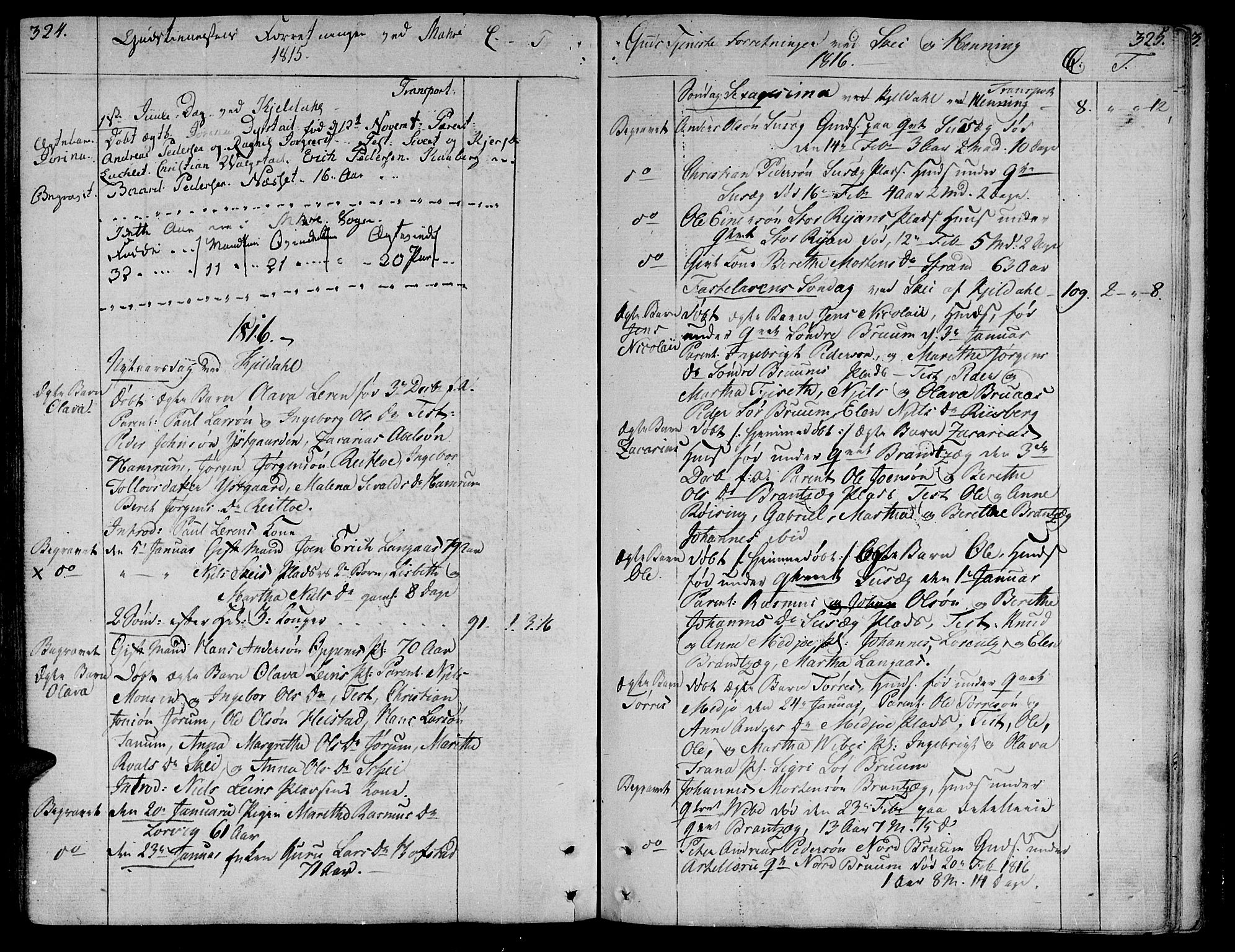 SAT, Ministerialprotokoller, klokkerbøker og fødselsregistre - Nord-Trøndelag, 735/L0332: Ministerialbok nr. 735A03, 1795-1816, s. 324-325