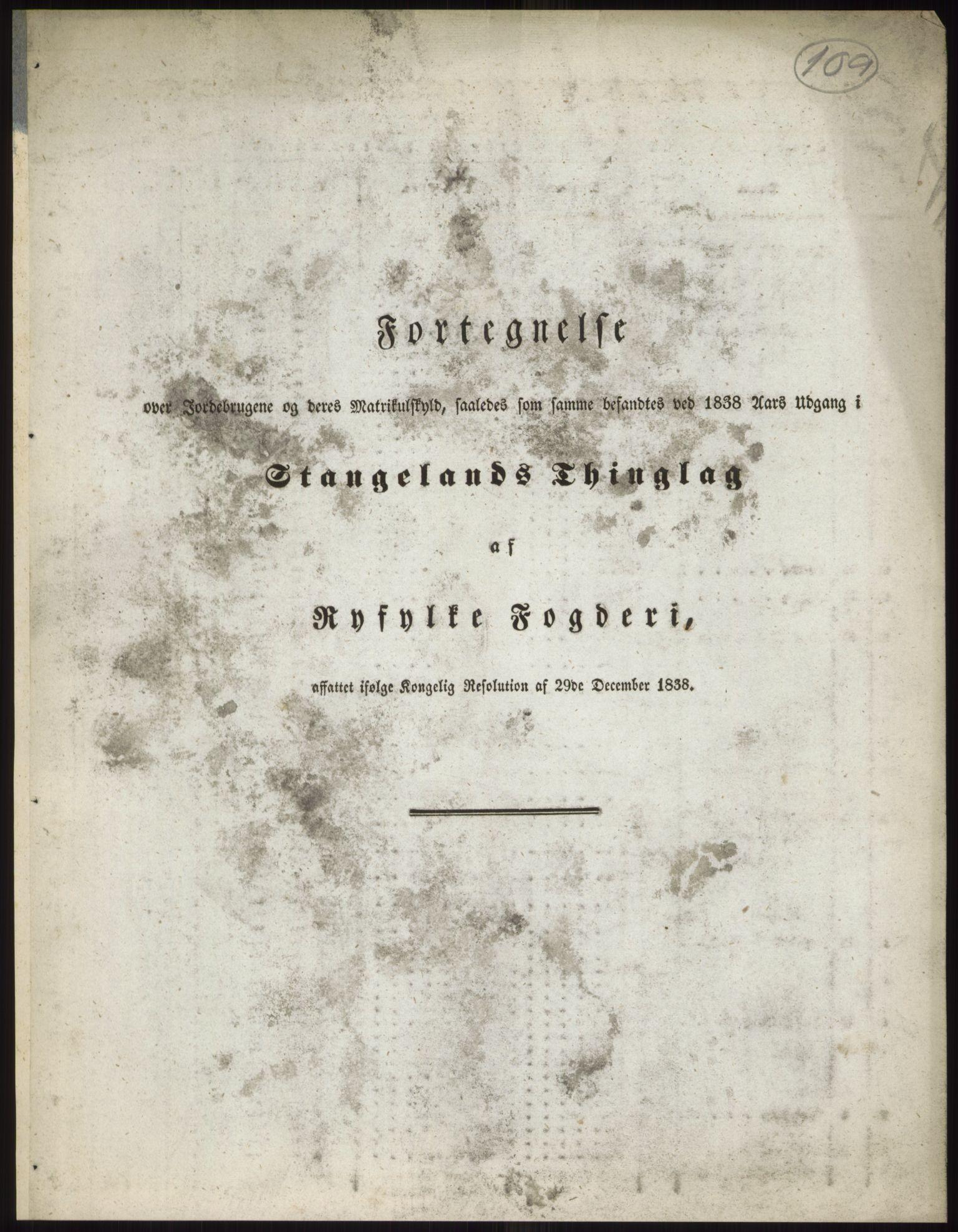 RA, 1838-matrikkelen (publikasjon)*, 1838, s. 109