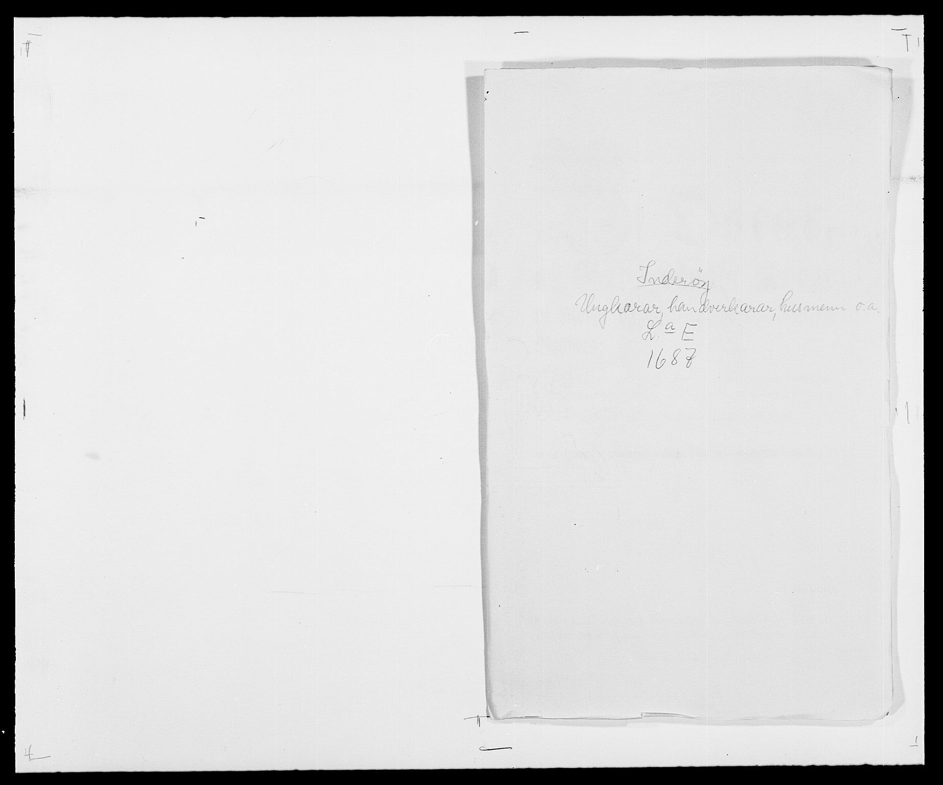 RA, Rentekammeret inntil 1814, Reviderte regnskaper, Fogderegnskap, R63/L4306: Fogderegnskap Inderøy, 1687-1689, s. 89