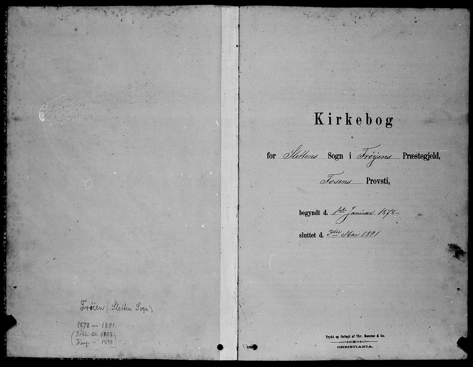 SAT, Ministerialprotokoller, klokkerbøker og fødselsregistre - Sør-Trøndelag, 640/L0585: Klokkerbok nr. 640C03, 1878-1891