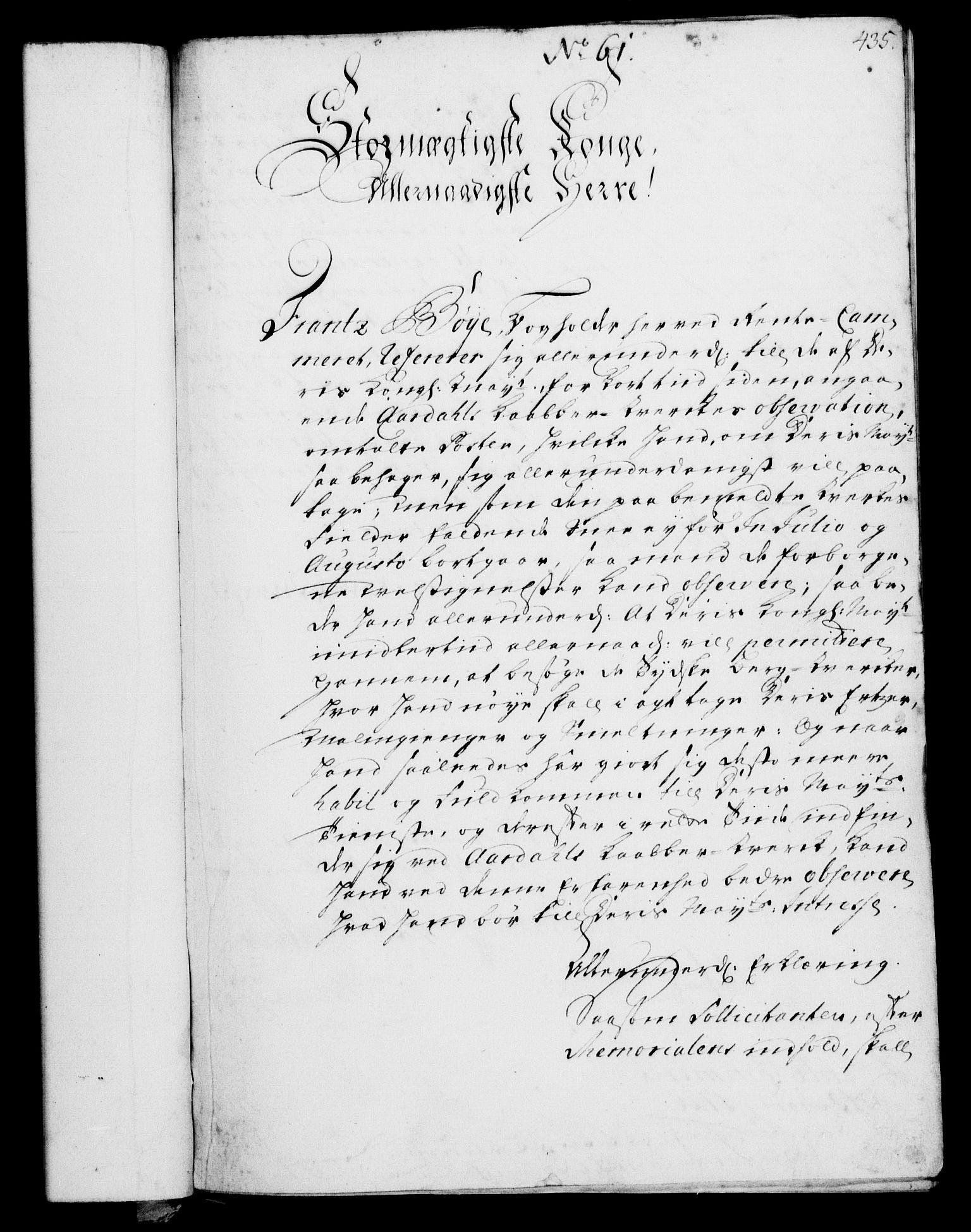 RA, Rentekammeret, Kammerkanselliet, G/Gf/Gfa/L0002: Norsk relasjons- og resolusjonsprotokoll (merket RK 52.2), 1720, s. 430