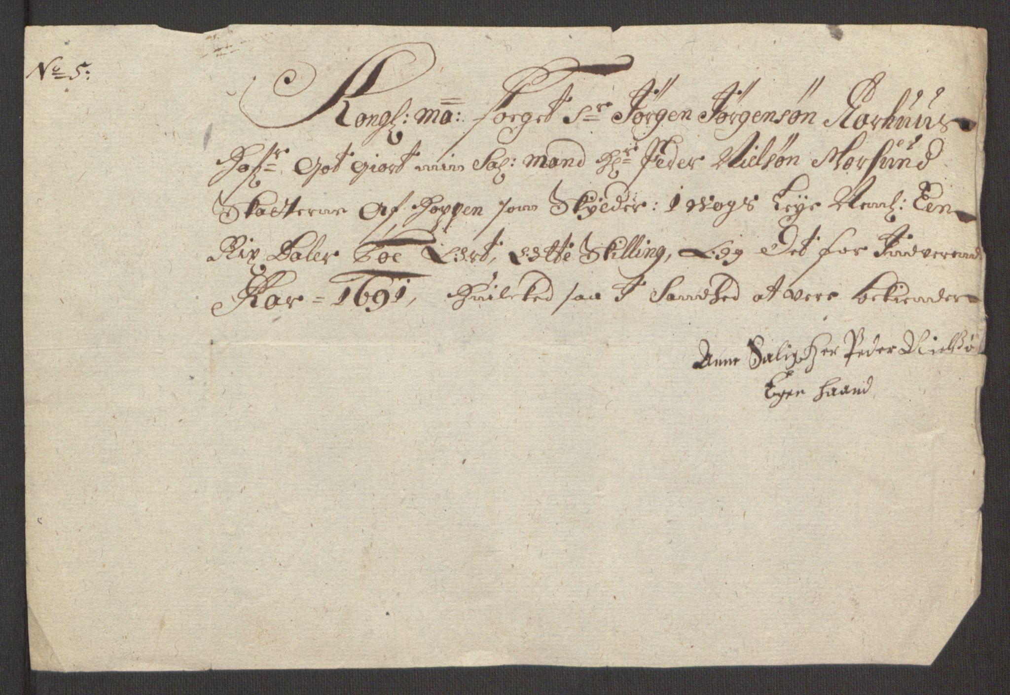 RA, Rentekammeret inntil 1814, Reviderte regnskaper, Fogderegnskap, R65/L4504: Fogderegnskap Helgeland, 1691-1692, s. 147