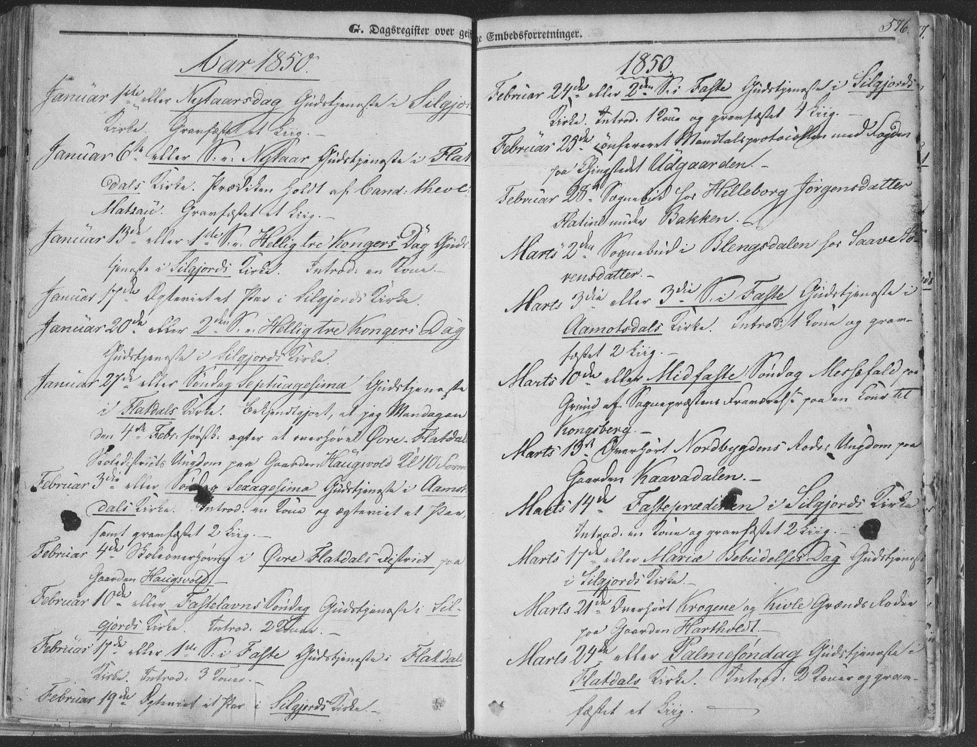 SAKO, Seljord kirkebøker, F/Fa/L012b: Ministerialbok nr. I 12B, 1850-1865, s. 576
