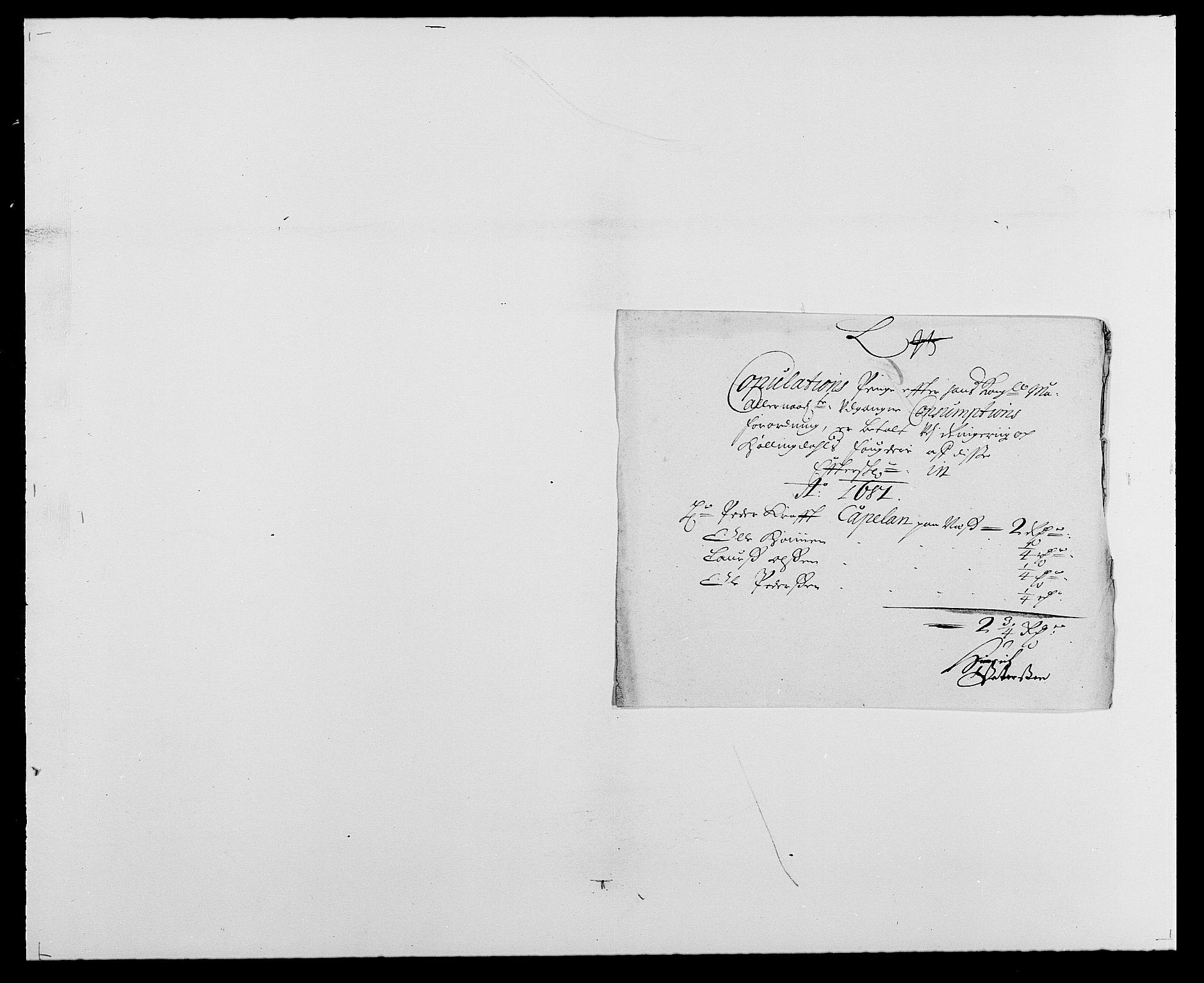 RA, Rentekammeret inntil 1814, Reviderte regnskaper, Fogderegnskap, R21/L1445: Fogderegnskap Ringerike og Hallingdal, 1681-1689, s. 201