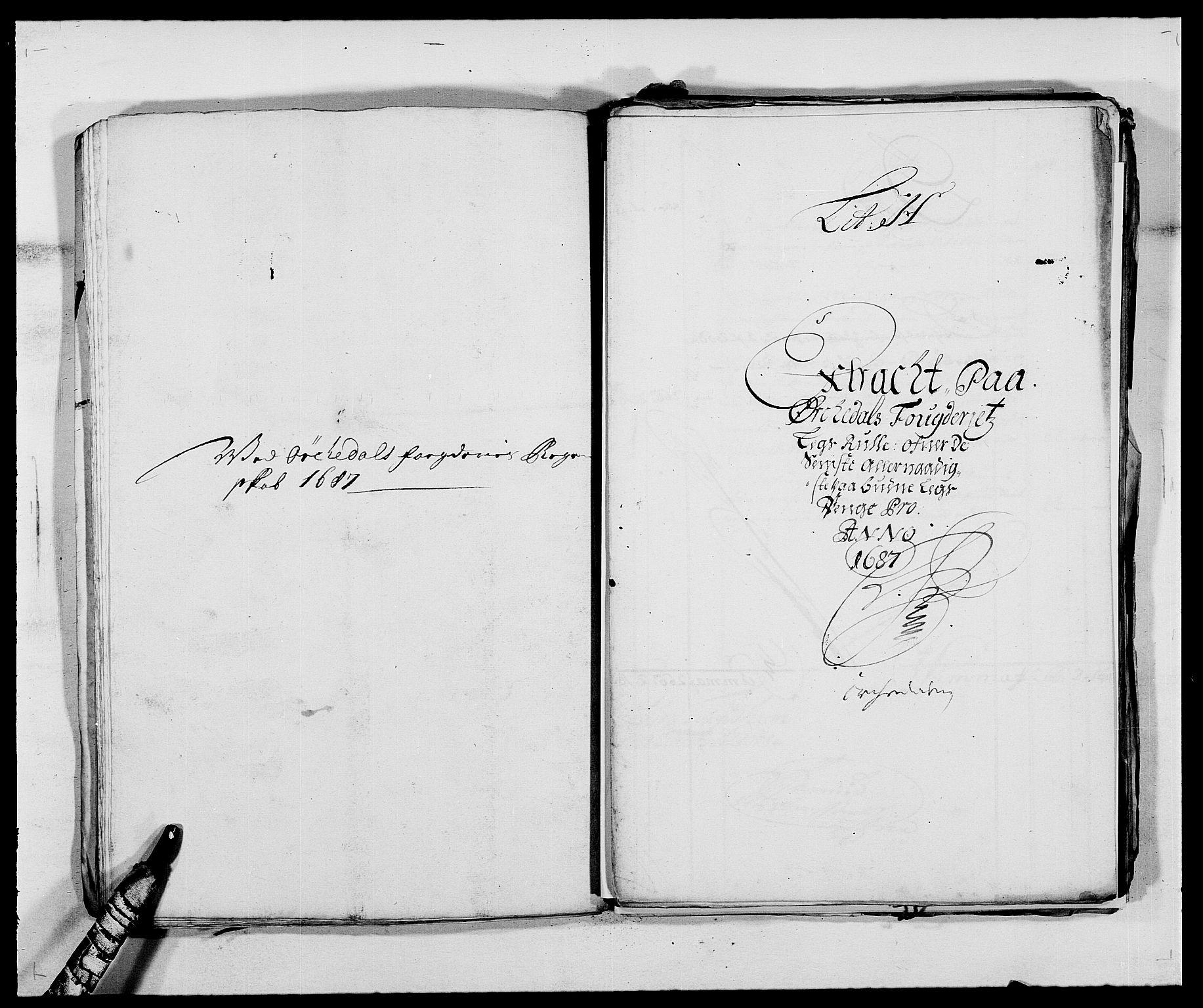RA, Rentekammeret inntil 1814, Reviderte regnskaper, Fogderegnskap, R58/L3935: Fogderegnskap Orkdal, 1687-1688, s. 110