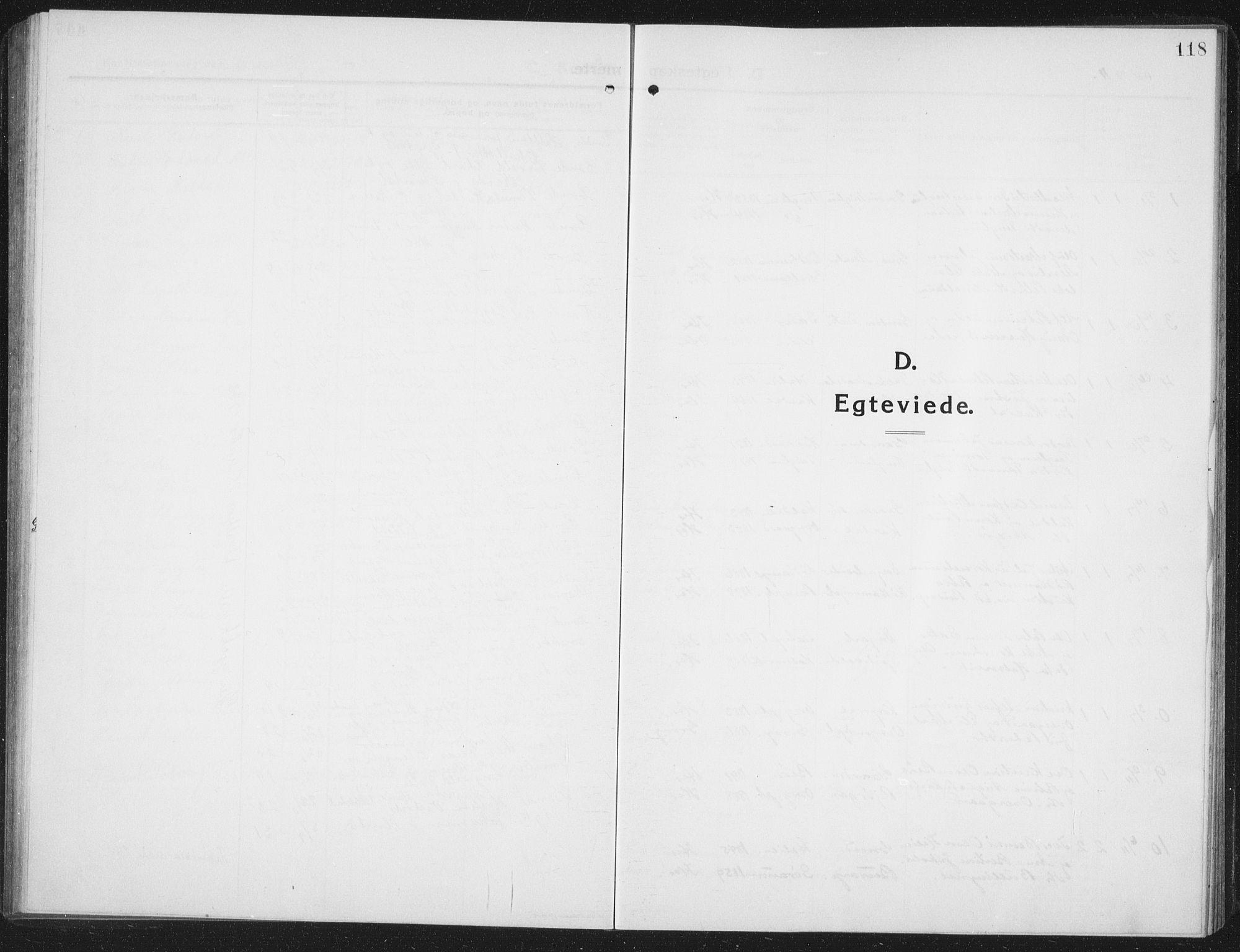 SAT, Ministerialprotokoller, klokkerbøker og fødselsregistre - Nord-Trøndelag, 742/L0413: Klokkerbok nr. 742C04, 1911-1938, s. 118