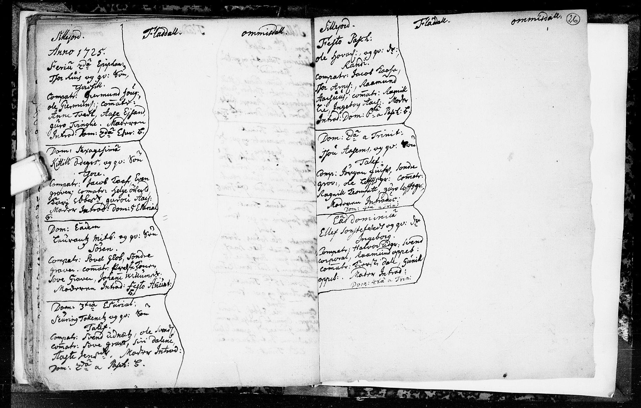 SAKO, Seljord kirkebøker, F/Fa/L0003: Ministerialbok nr. I 3, 1714-1725, s. 26