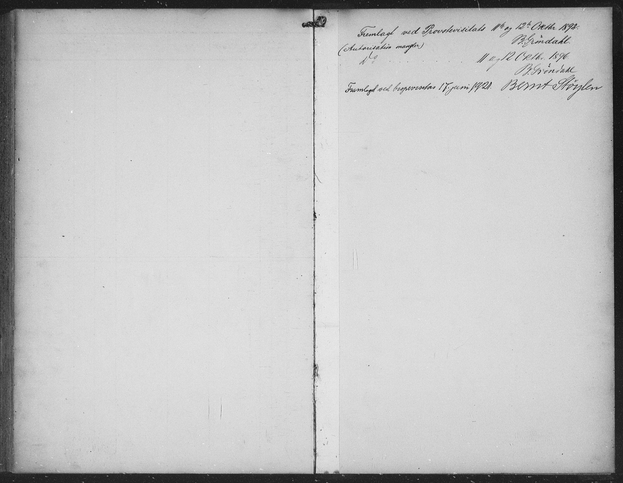 SAKO, Seljord kirkebøker, G/Gc/L0003: Klokkerbok nr. III 3, 1887-1926