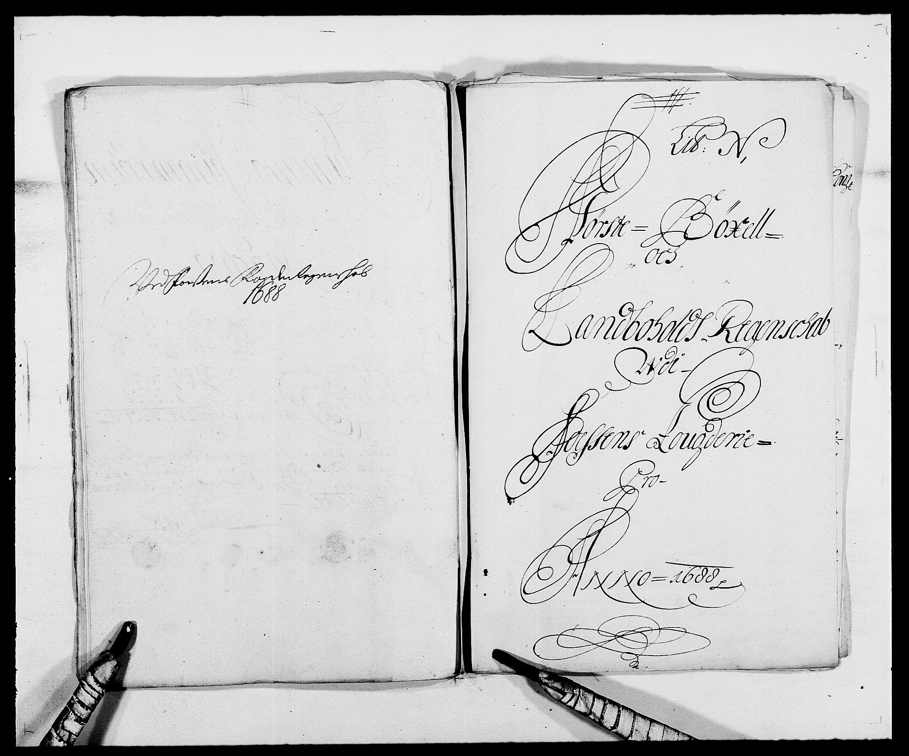 RA, Rentekammeret inntil 1814, Reviderte regnskaper, Fogderegnskap, R57/L3846: Fogderegnskap Fosen, 1688, s. 154