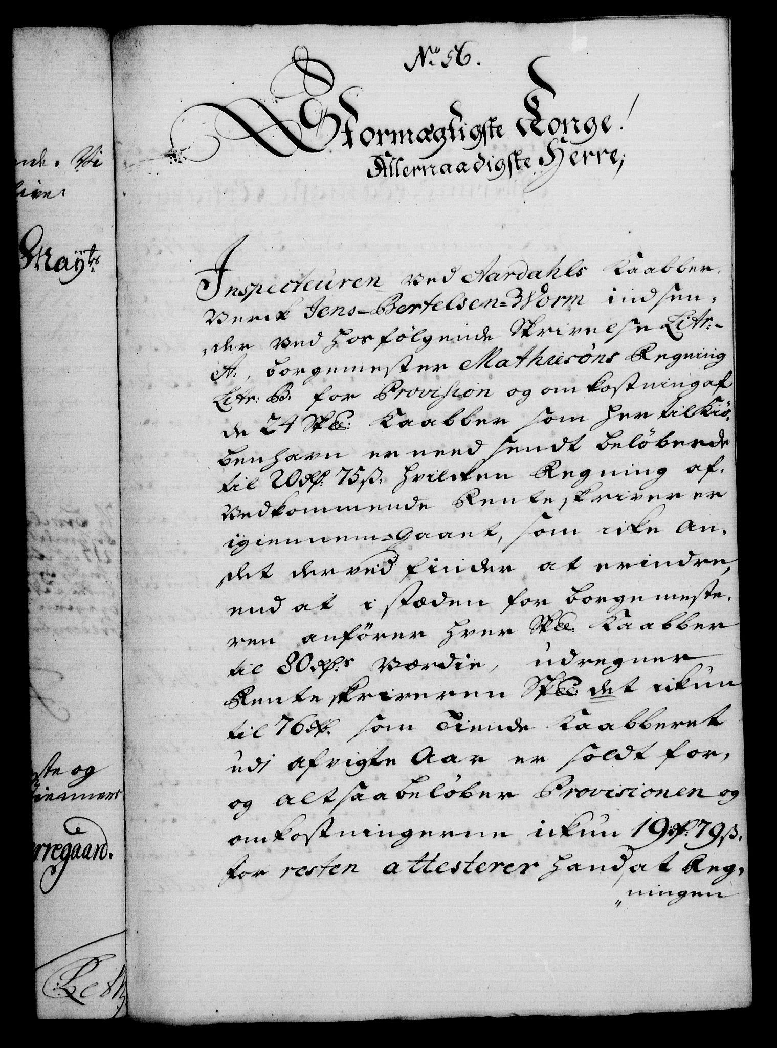 RA, Rentekammeret, Kammerkanselliet, G/Gf/Gfa/L0013: Norsk relasjons- og resolusjonsprotokoll (merket RK 52.13), 1730, s. 343