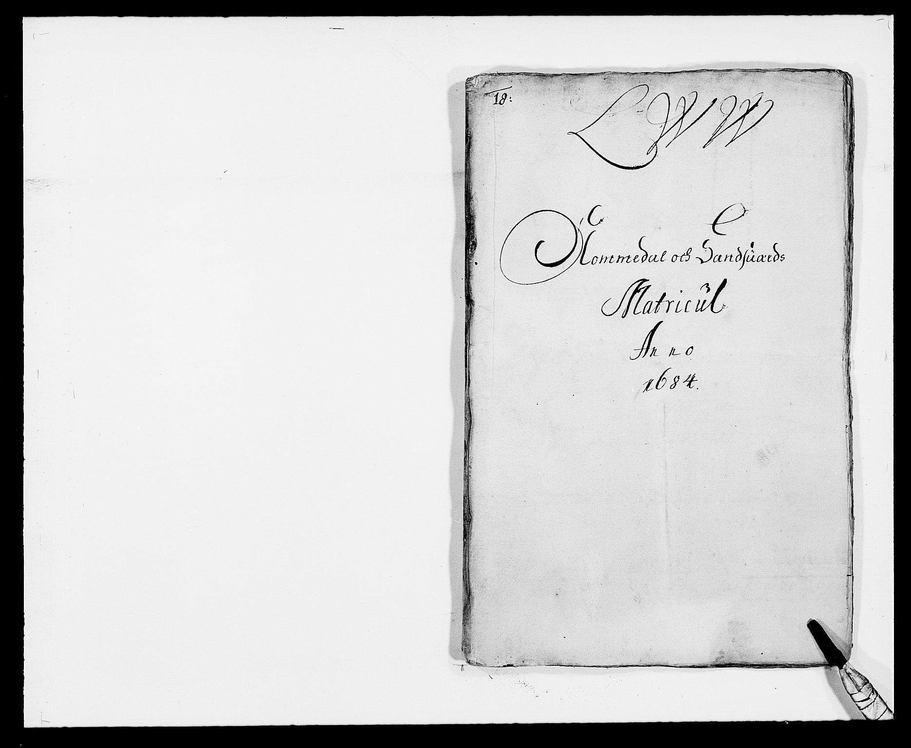 RA, Rentekammeret inntil 1814, Reviderte regnskaper, Fogderegnskap, R24/L1571: Fogderegnskap Numedal og Sandsvær, 1679-1686, s. 22