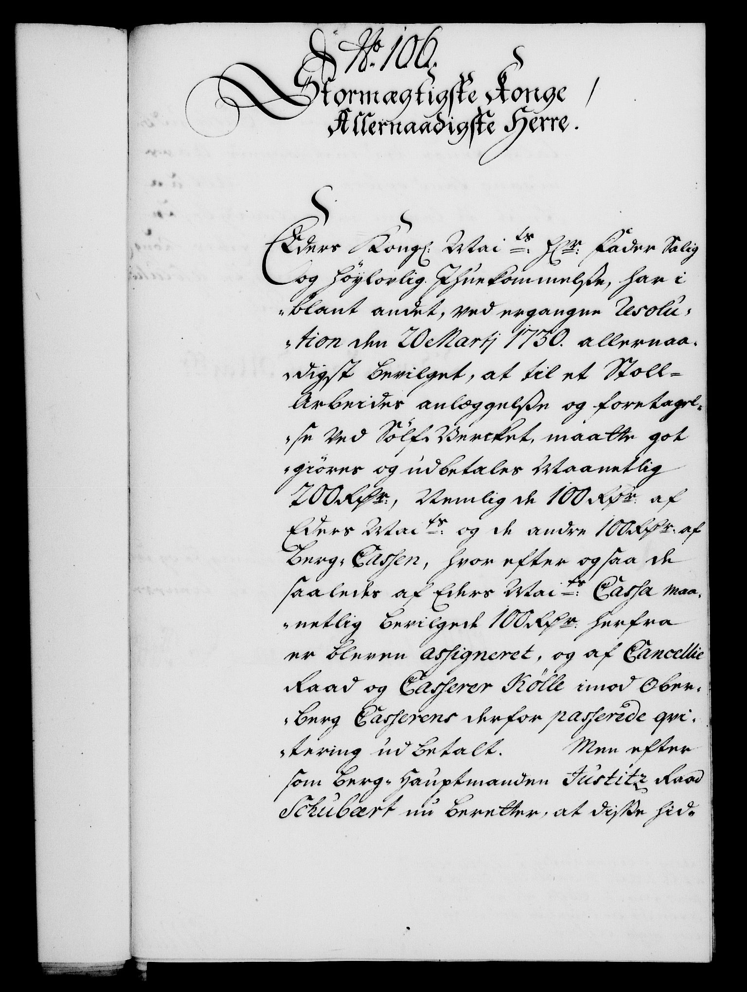 RA, Rentekammeret, Kammerkanselliet, G/Gf/Gfa/L0018: Norsk relasjons- og resolusjonsprotokoll (merket RK 52.18), 1735, s. 671