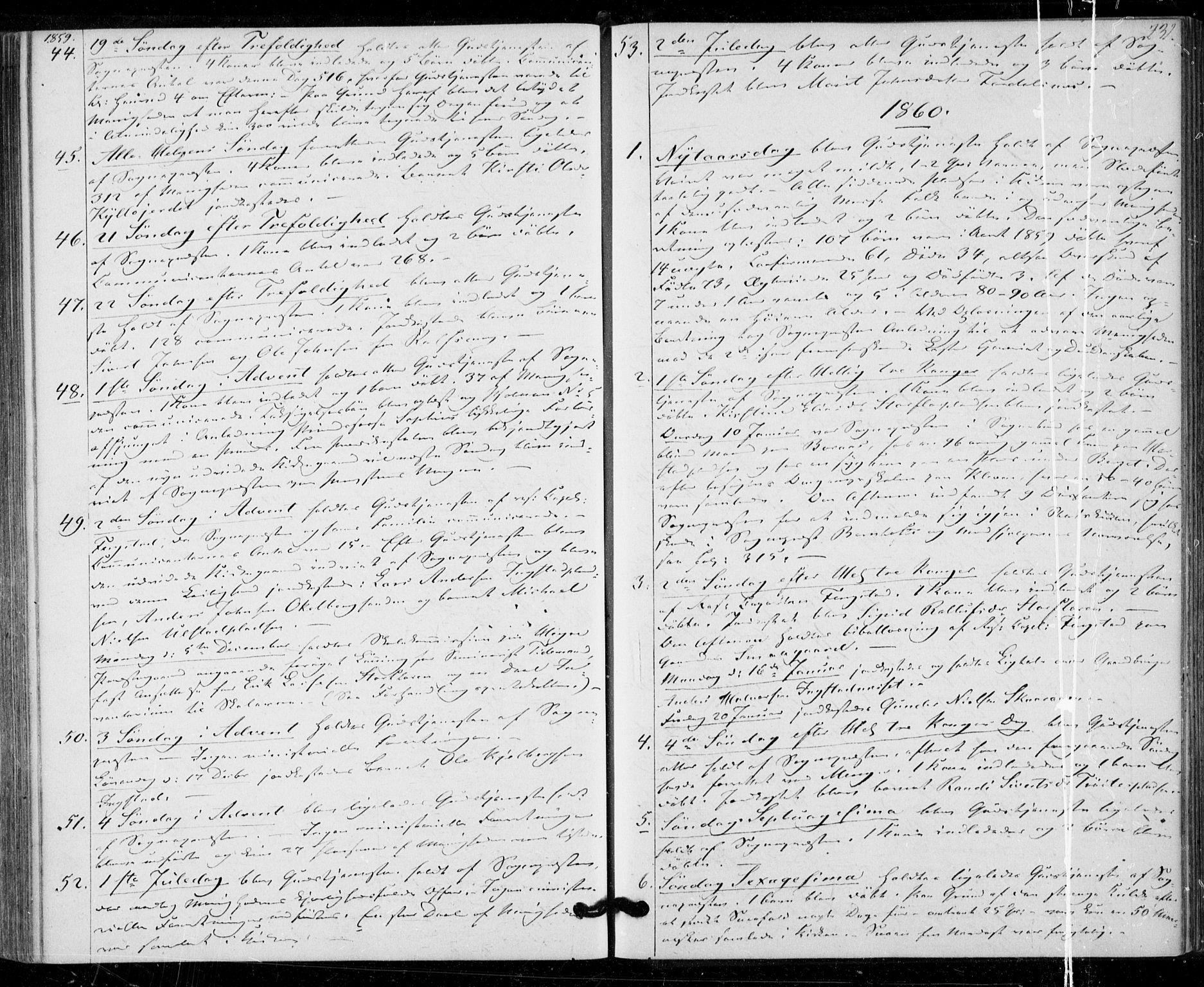 SAT, Ministerialprotokoller, klokkerbøker og fødselsregistre - Nord-Trøndelag, 703/L0028: Ministerialbok nr. 703A01, 1850-1862, s. 231