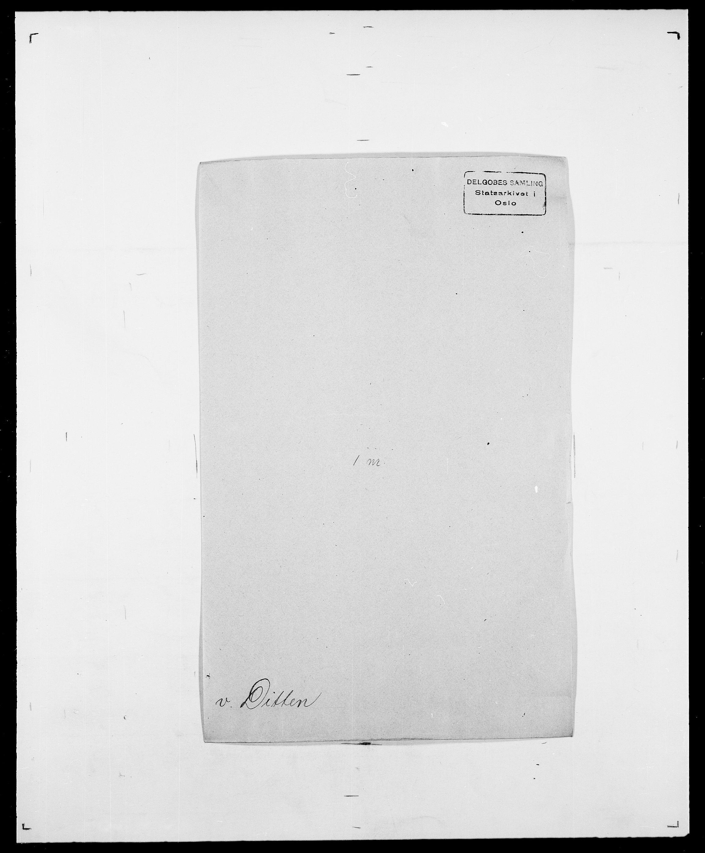 SAO, Delgobe, Charles Antoine - samling, D/Da/L0009: Dahl - v. Düren, s. 608