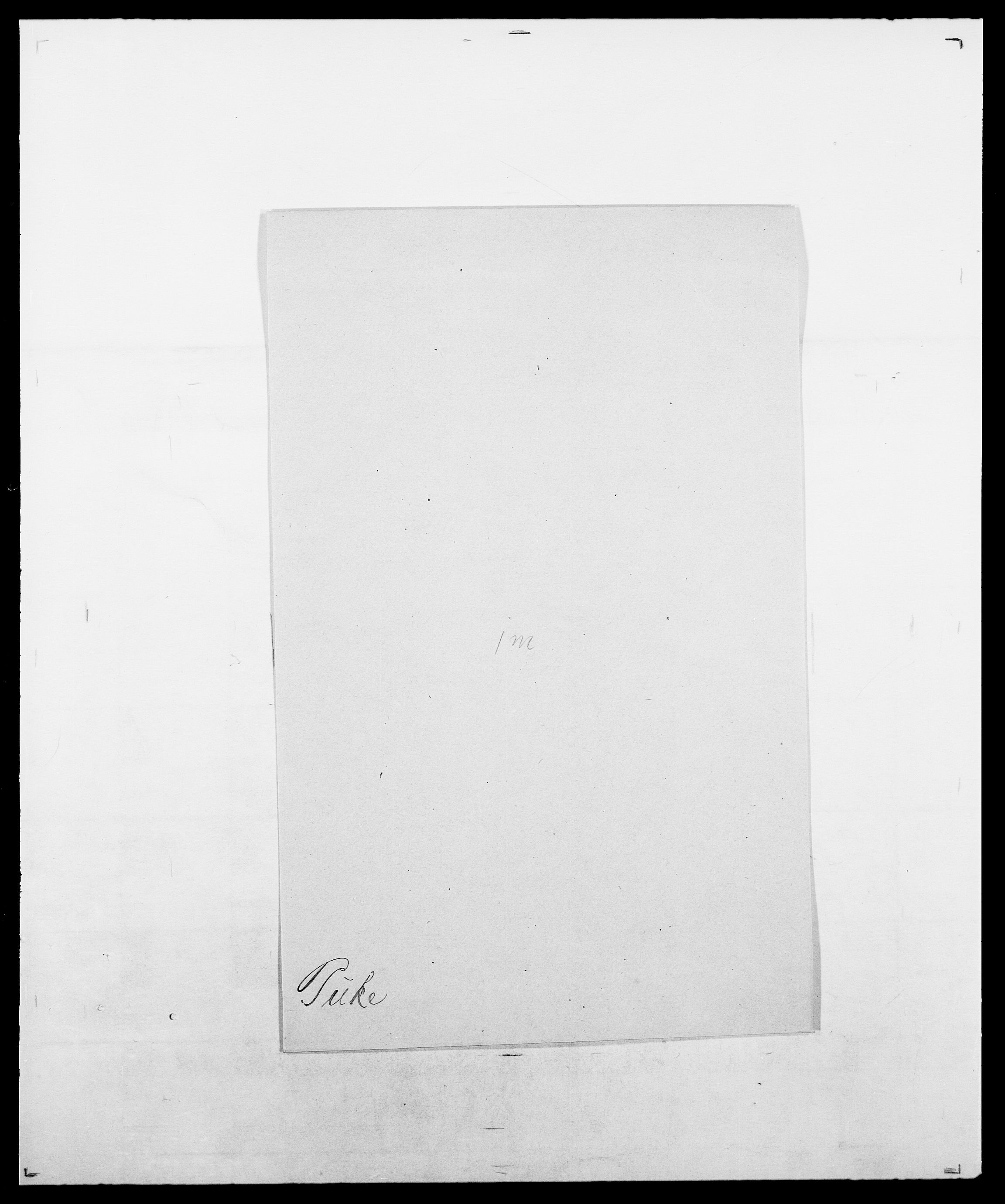 SAO, Delgobe, Charles Antoine - samling, D/Da/L0031: de Place - Raaum, s. 437
