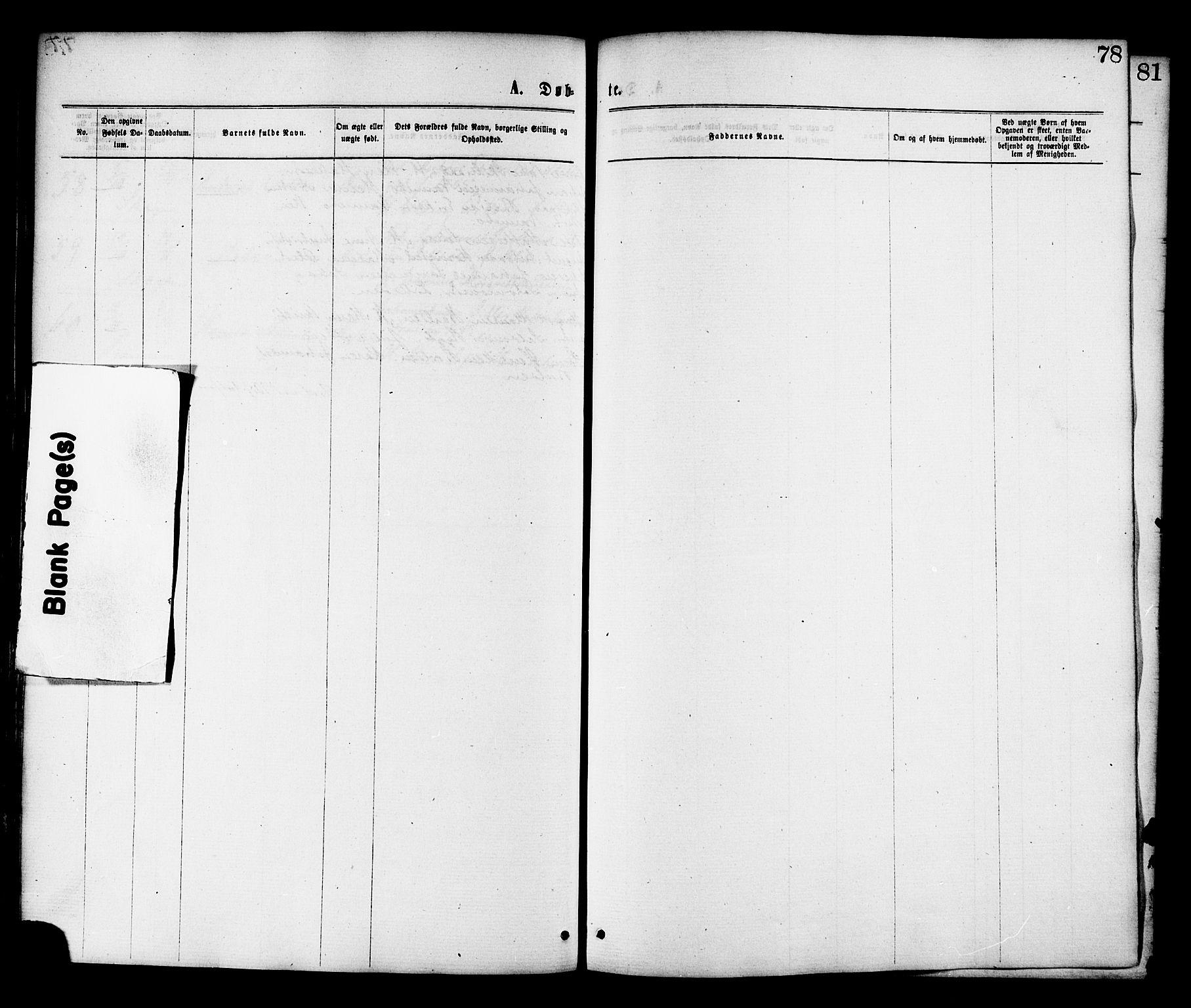 SAT, Ministerialprotokoller, klokkerbøker og fødselsregistre - Nord-Trøndelag, 764/L0554: Ministerialbok nr. 764A09, 1867-1880, s. 78