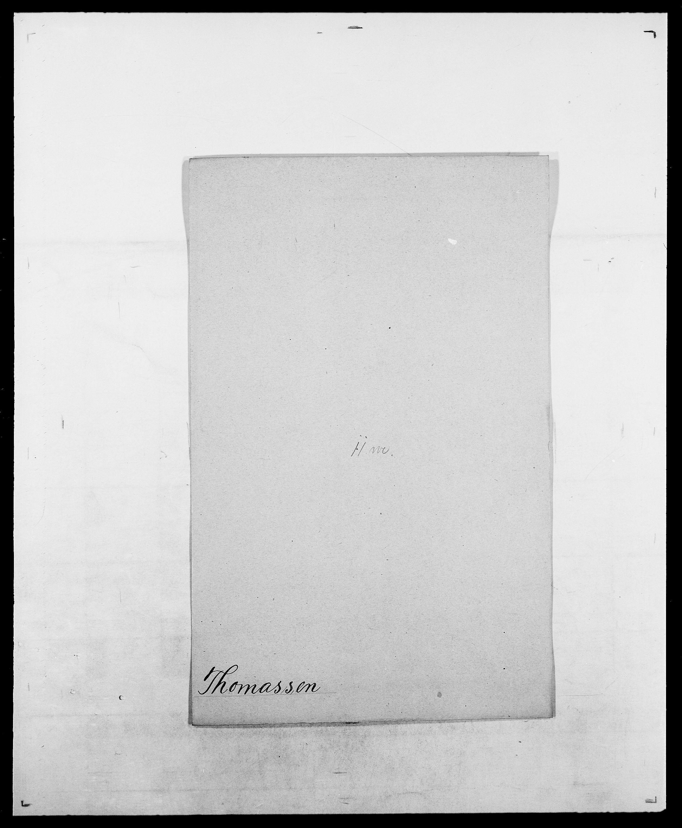 SAO, Delgobe, Charles Antoine - samling, D/Da/L0038: Svanenskjold - Thornsohn, s. 771
