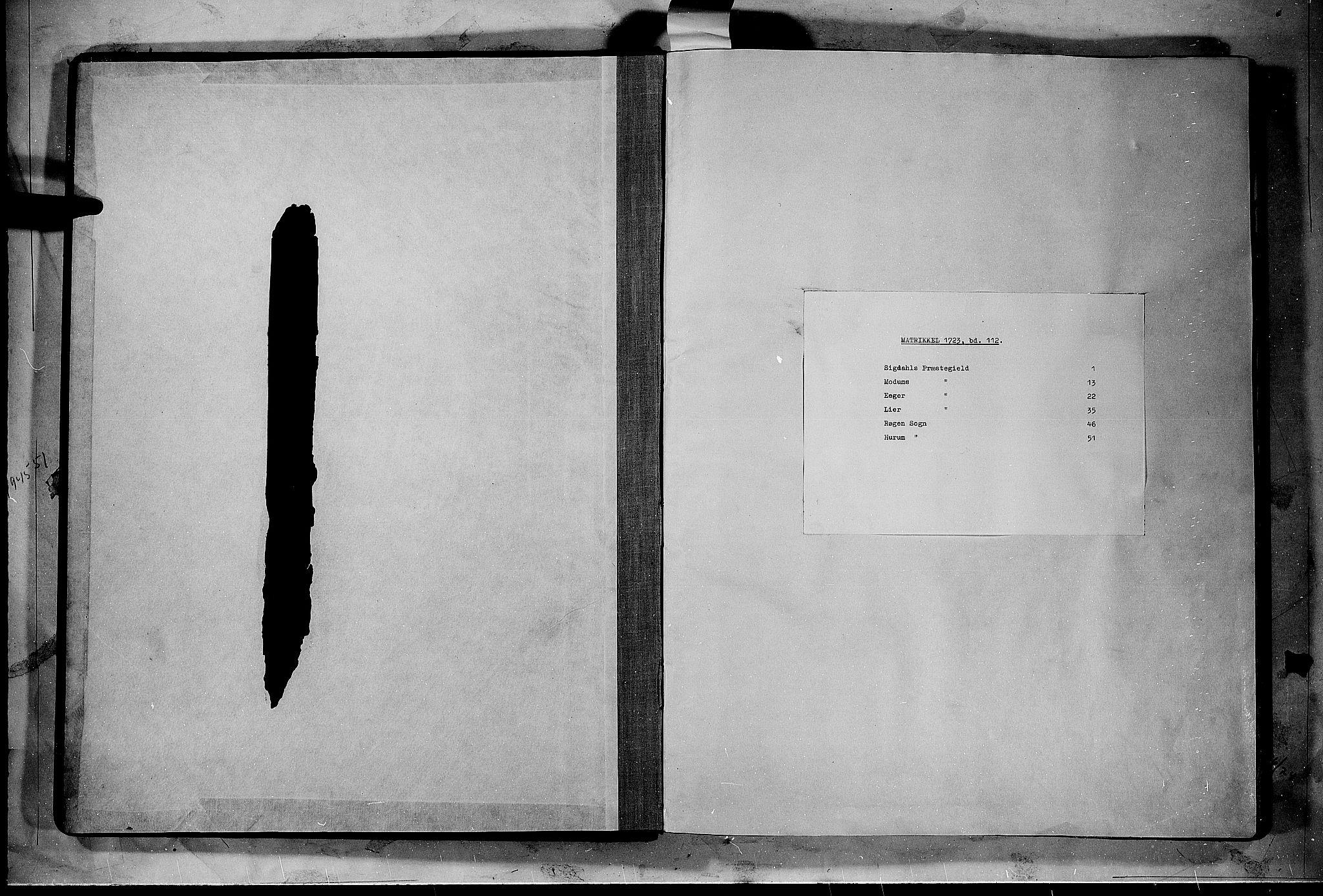 RA, Rentekammeret inntil 1814, Realistisk ordnet avdeling, N/Nb/Nbf/L0112: Buskerud matrikkelprotokoll, 1723, s. upaginert