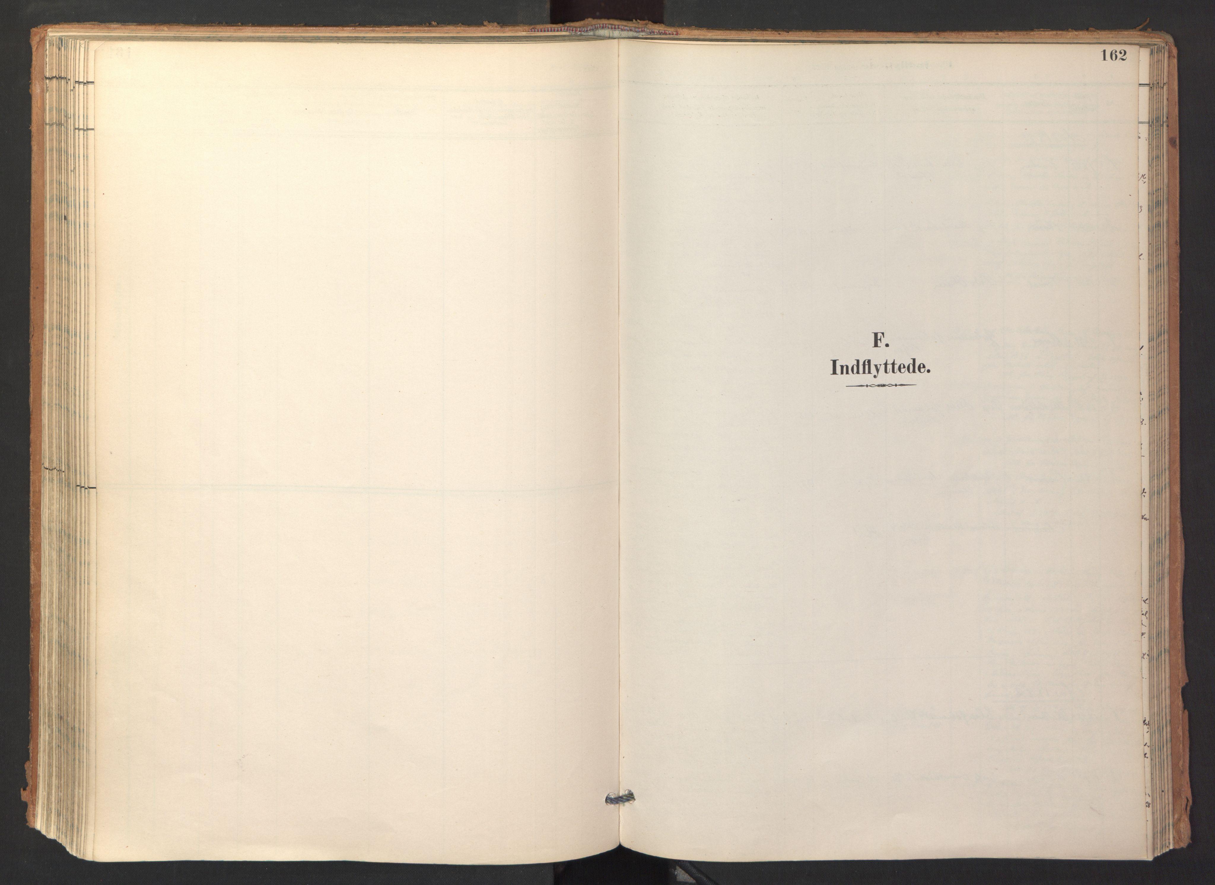 SAT, Ministerialprotokoller, klokkerbøker og fødselsregistre - Sør-Trøndelag, 688/L1025: Ministerialbok nr. 688A02, 1891-1909, s. 162