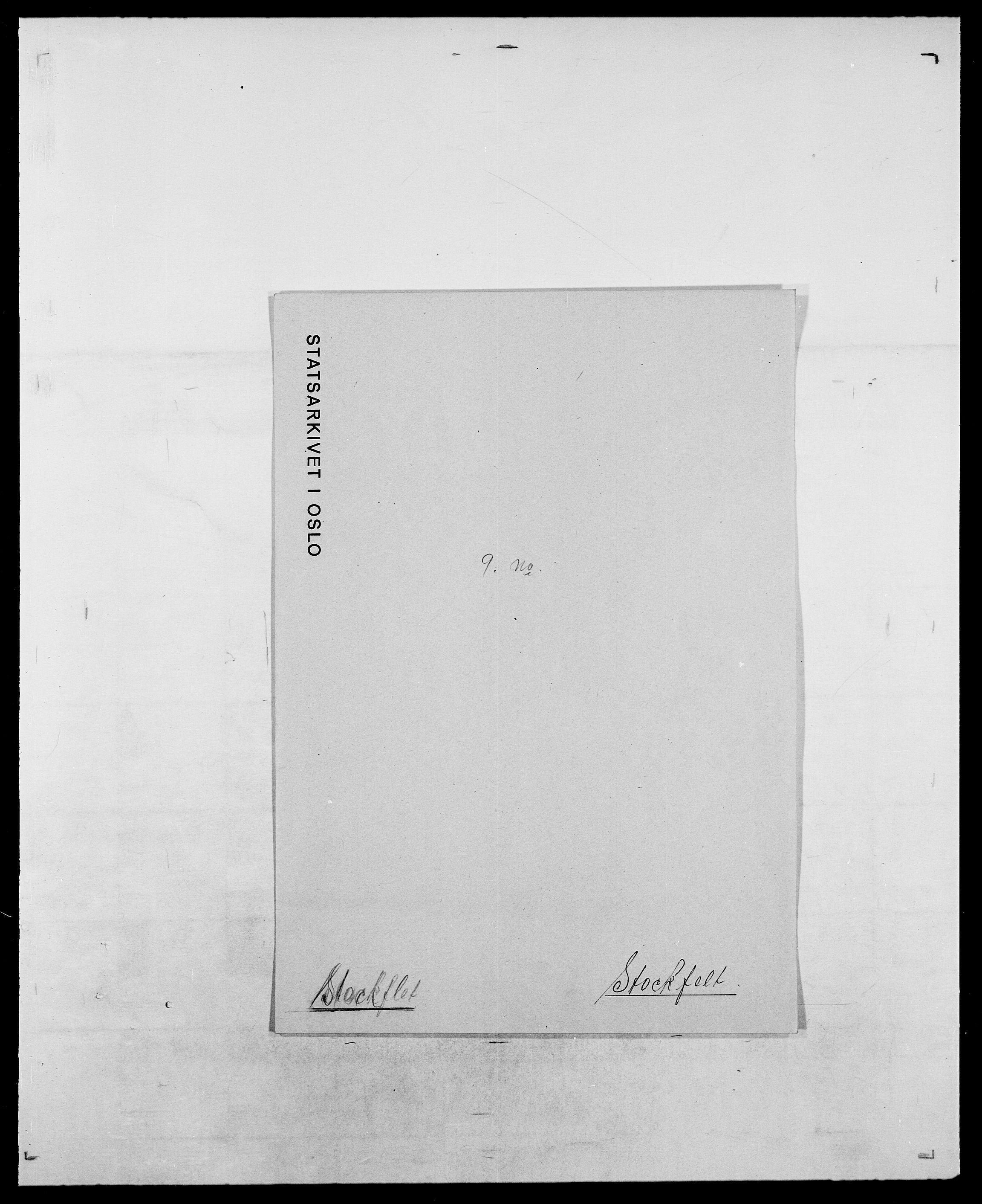 SAO, Delgobe, Charles Antoine - samling, D/Da/L0037: Steen, Sthen, Stein - Svare, Svanige, Svanne, se også Svanning og Schwane, s. 405