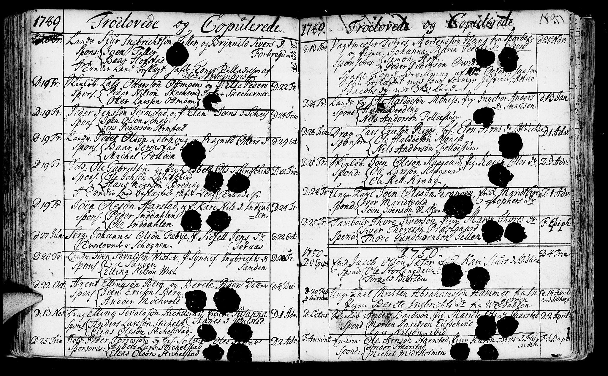 SAT, Ministerialprotokoller, klokkerbøker og fødselsregistre - Nord-Trøndelag, 723/L0231: Ministerialbok nr. 723A02, 1748-1780, s. 160