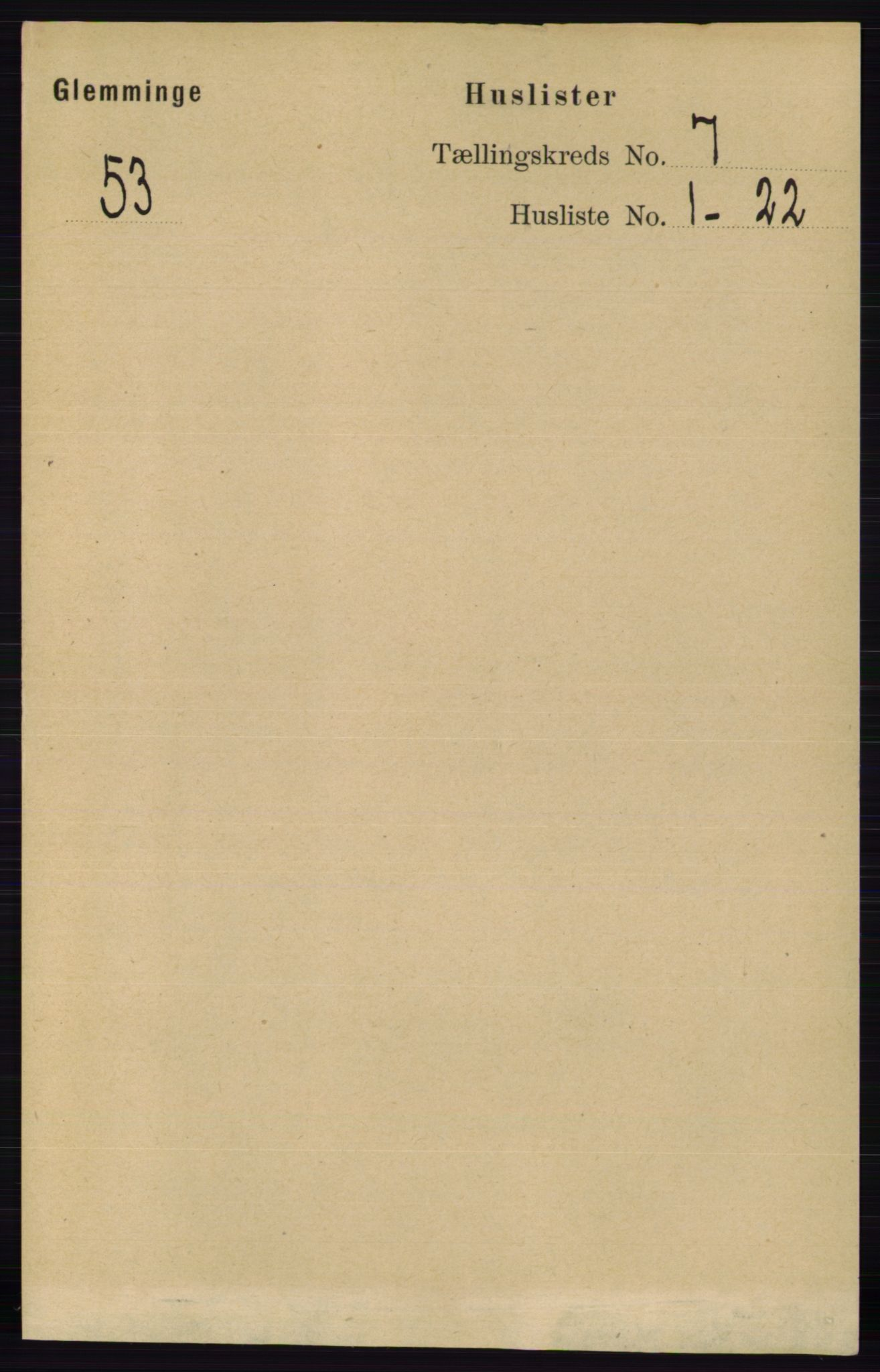 RA, Folketelling 1891 for 0132 Glemmen herred, 1891, s. 9104