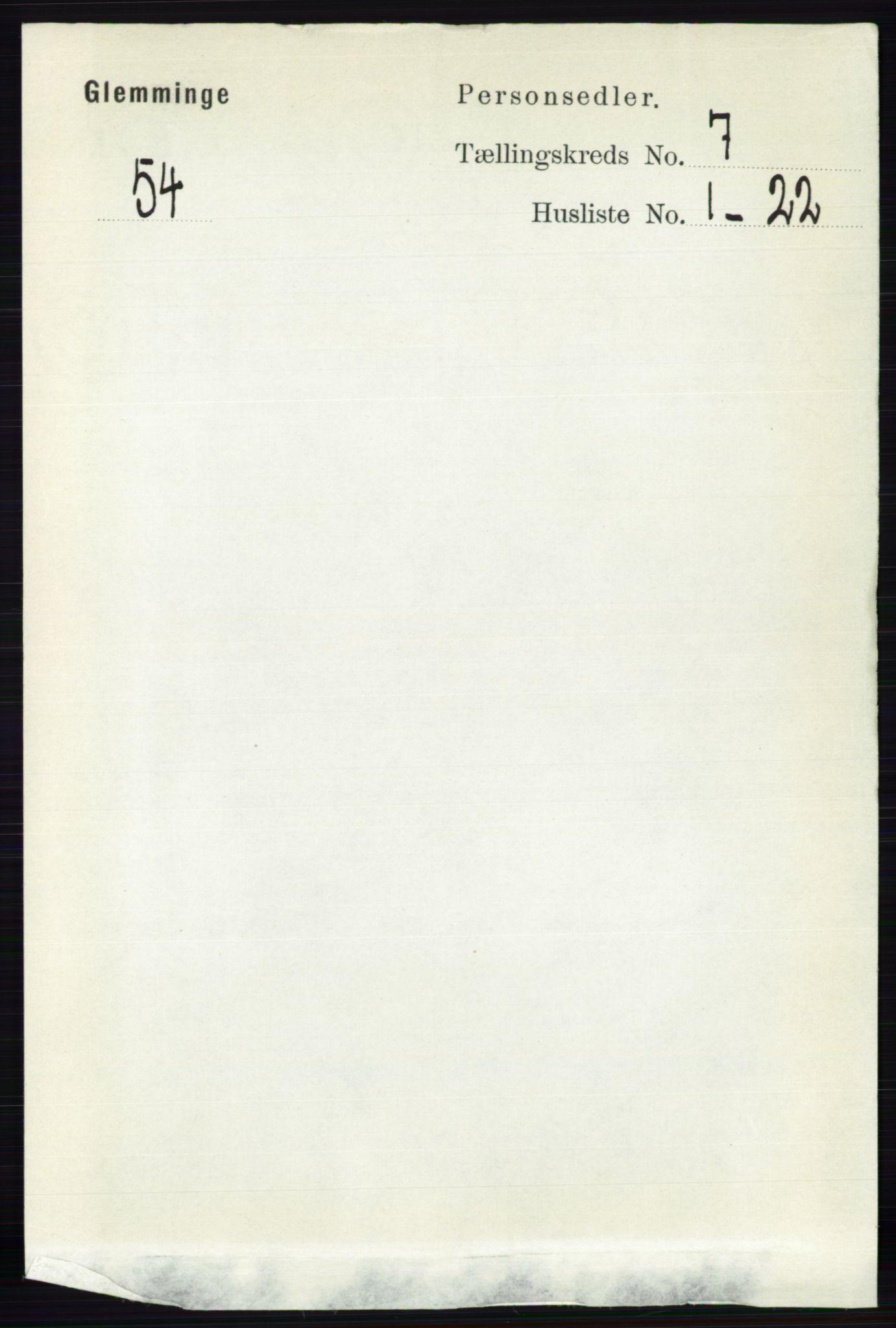 RA, Folketelling 1891 for 0132 Glemmen herred, 1891, s. 9128