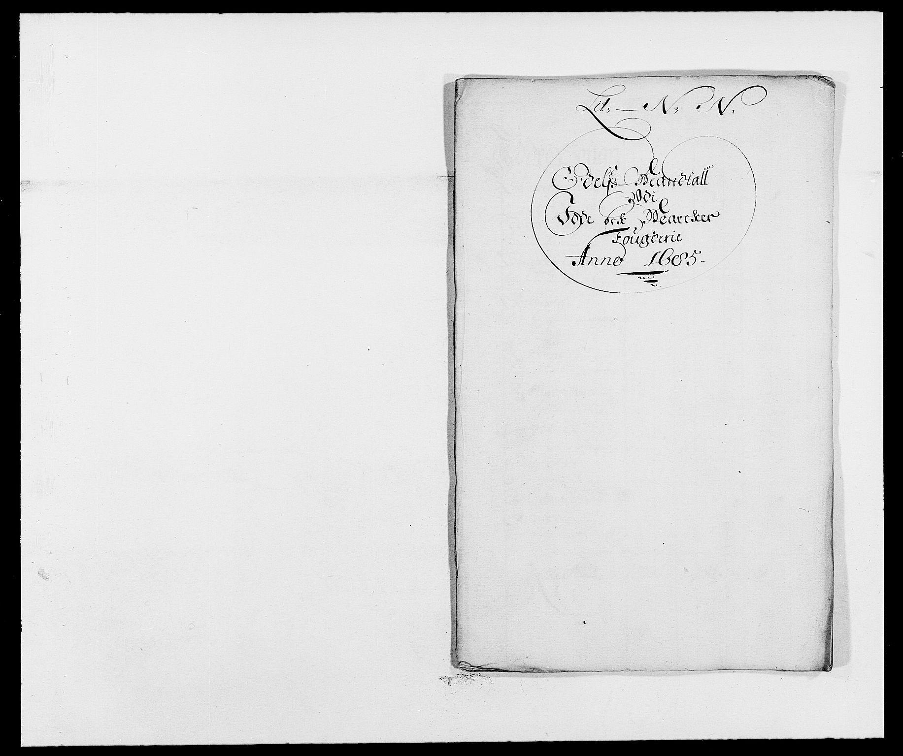RA, Rentekammeret inntil 1814, Reviderte regnskaper, Fogderegnskap, R01/L0006: Fogderegnskap Idd og Marker, 1685-1686, s. 136