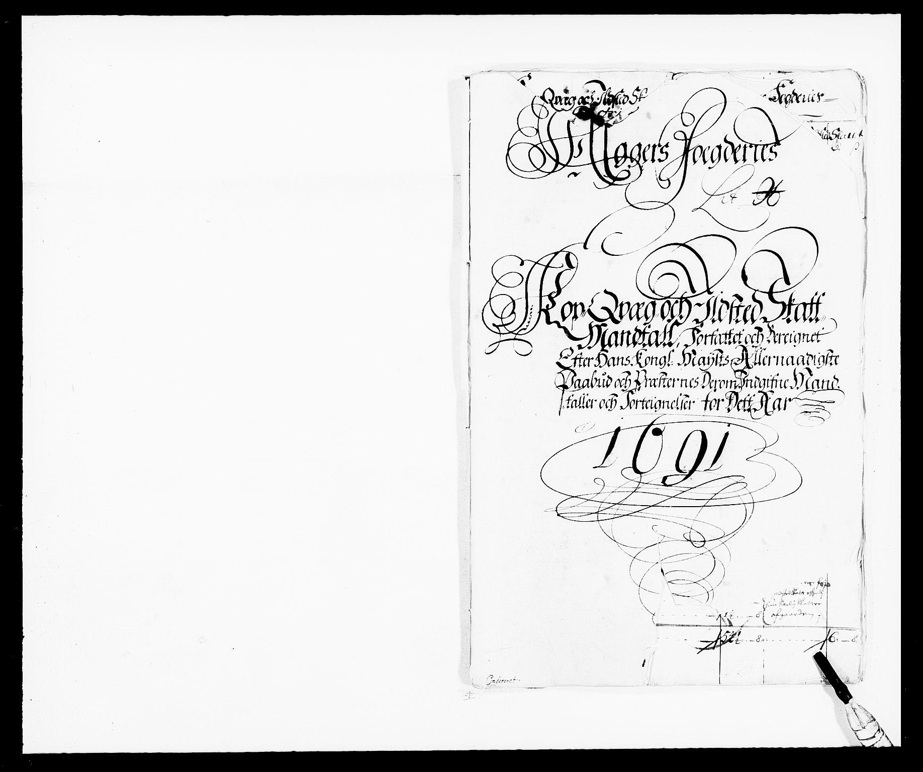 RA, Rentekammeret inntil 1814, Reviderte regnskaper, Fogderegnskap, R08/L0423: Fogderegnskap Aker, 1687-1689, s. 328