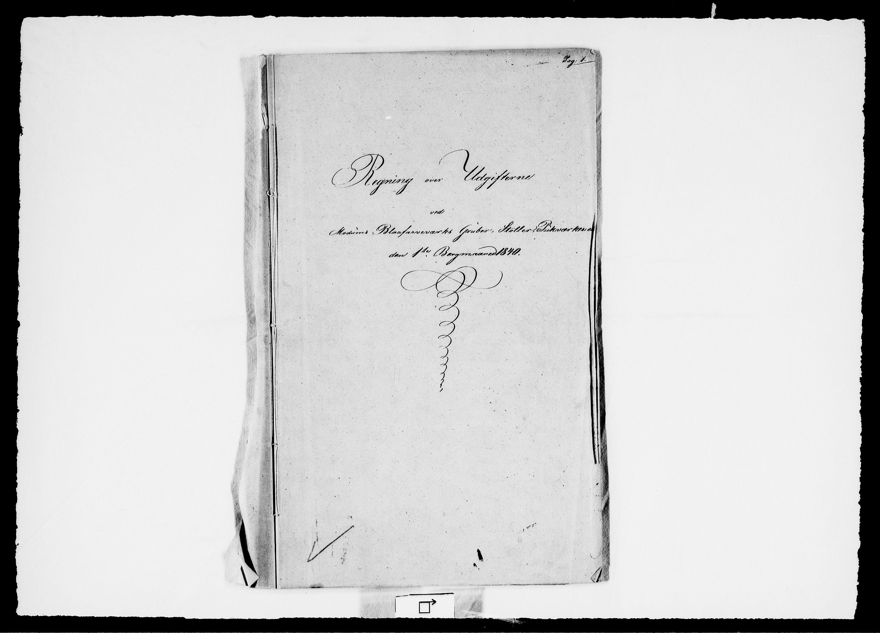 RA, Modums Blaafarveværk, G/Gd/Gdd/L0266, 1840-1841, s. 2