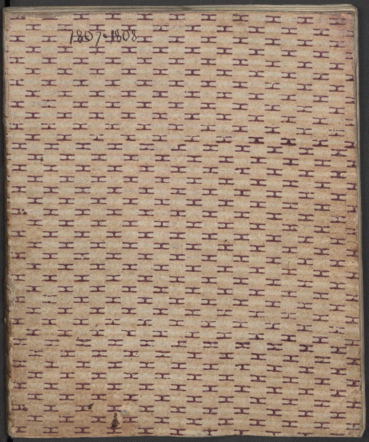 RA, Holck, Meidell, Hartvig, F/L0001: (Kassett) Dagbøker ført av Ole Elias v.Holck, 1798-1842, s. 151