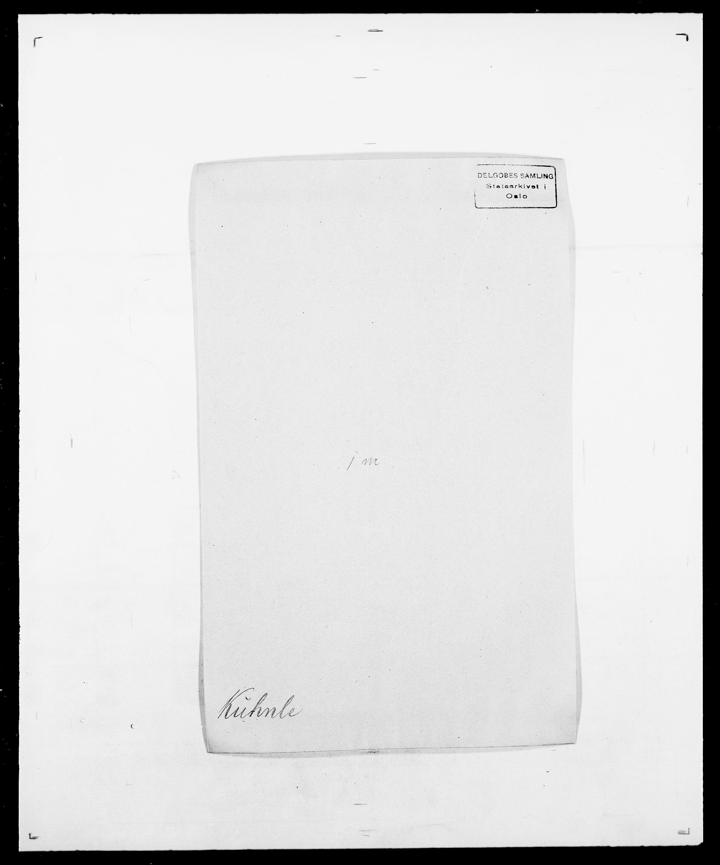 SAO, Delgobe, Charles Antoine - samling, D/Da/L0022: Krog - Lasteen, s. 217
