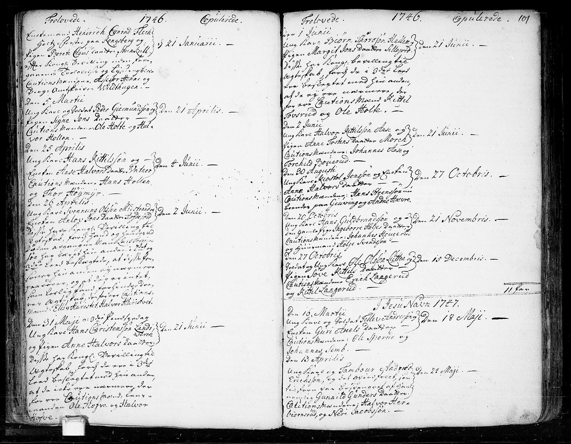 SAKO, Heddal kirkebøker, F/Fa/L0003: Ministerialbok nr. I 3, 1723-1783, s. 101