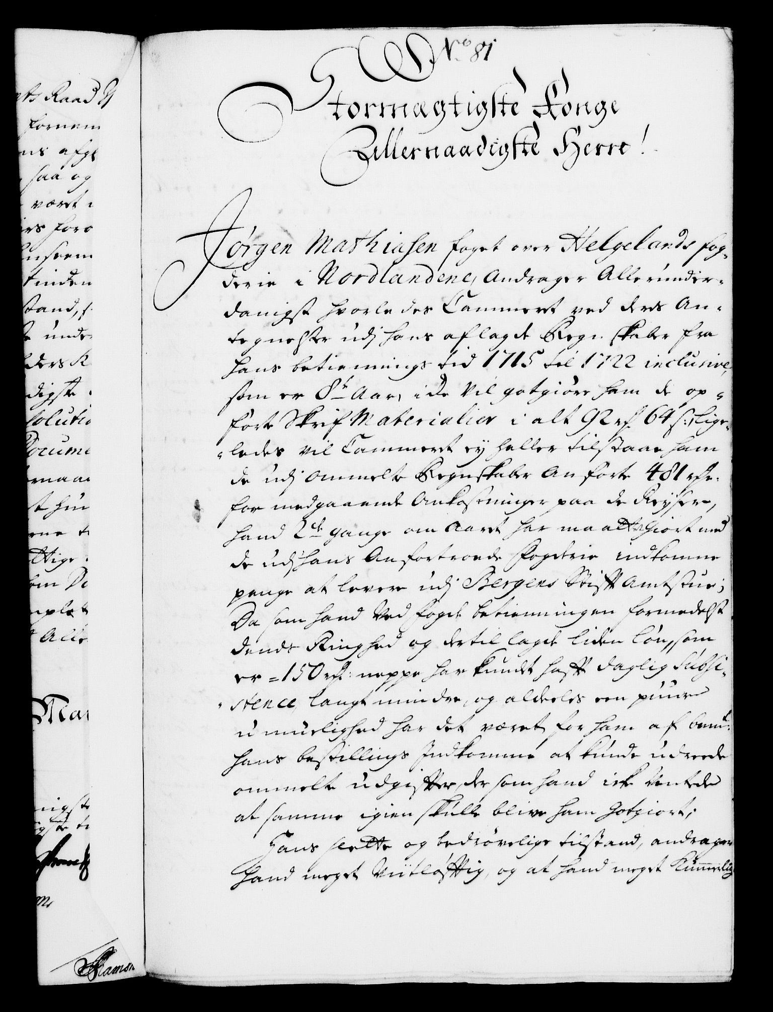 RA, Rentekammeret, Kammerkanselliet, G/Gf/Gfa/L0008: Norsk relasjons- og resolusjonsprotokoll (merket RK 52.8), 1725, s. 449