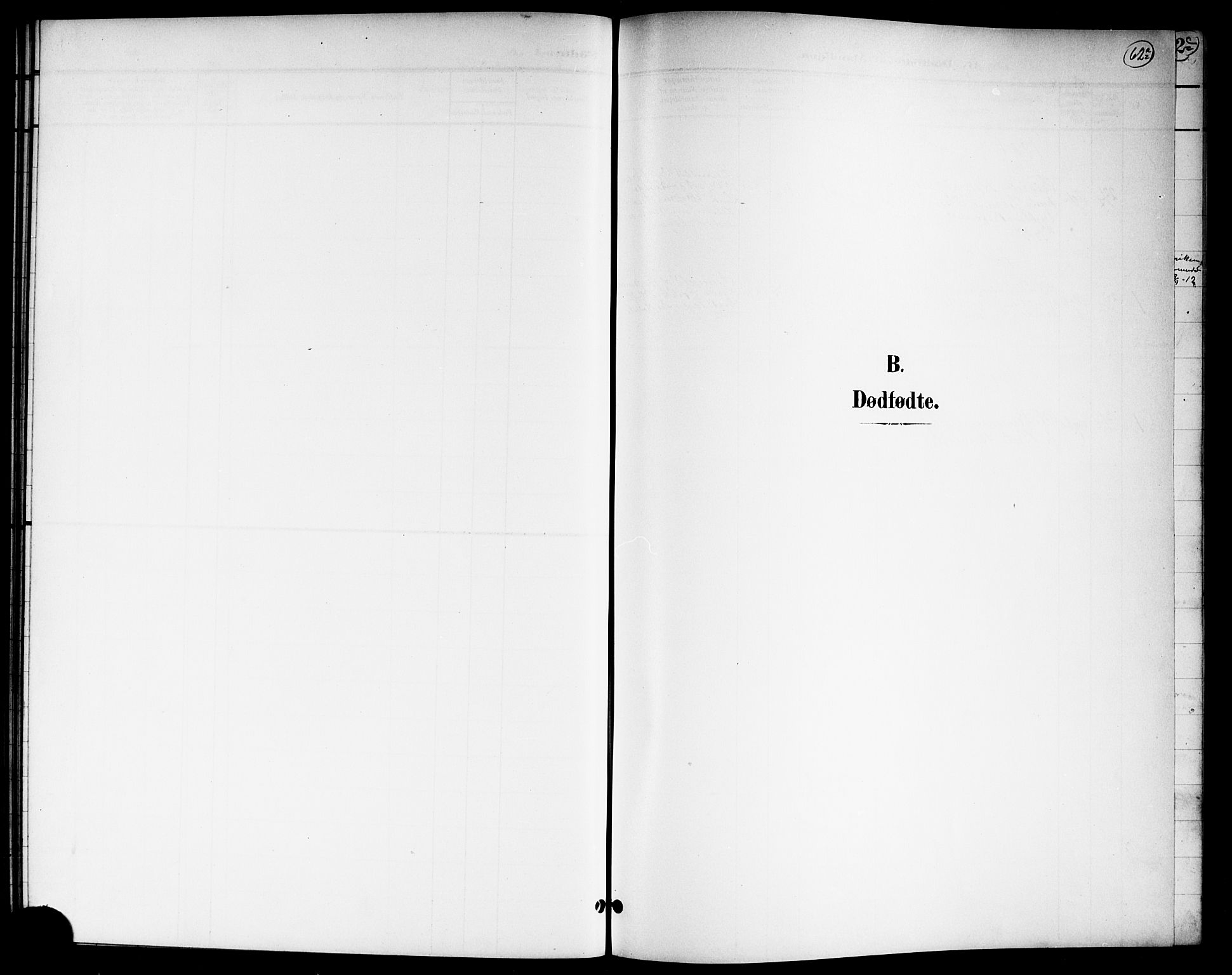 SAO, Nannestad prestekontor Kirkebøker, G/Ga/L0002: Klokkerbok nr. I 2, 1901-1913, s. 62a