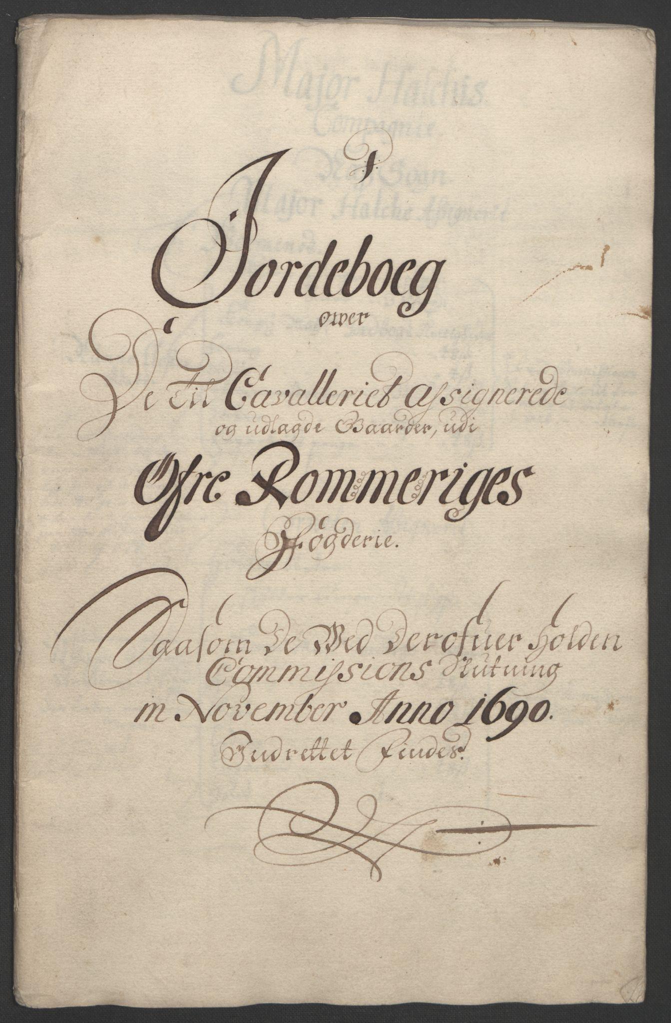 RA, Rentekammeret inntil 1814, Reviderte regnskaper, Fogderegnskap, R12/L0703: Fogderegnskap Øvre Romerike, 1691, s. 261