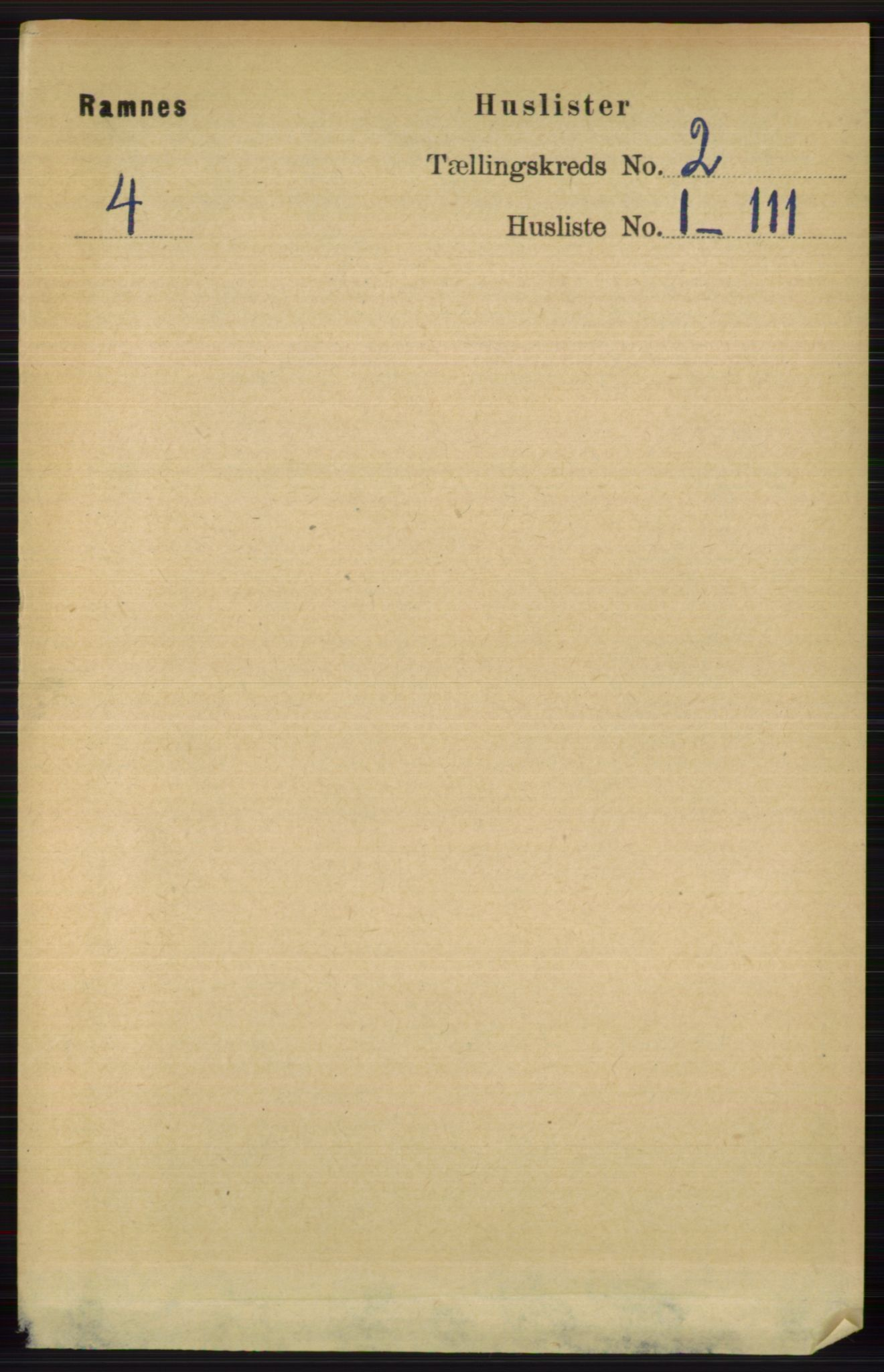 RA, Folketelling 1891 for 0718 Ramnes herred, 1891, s. 453