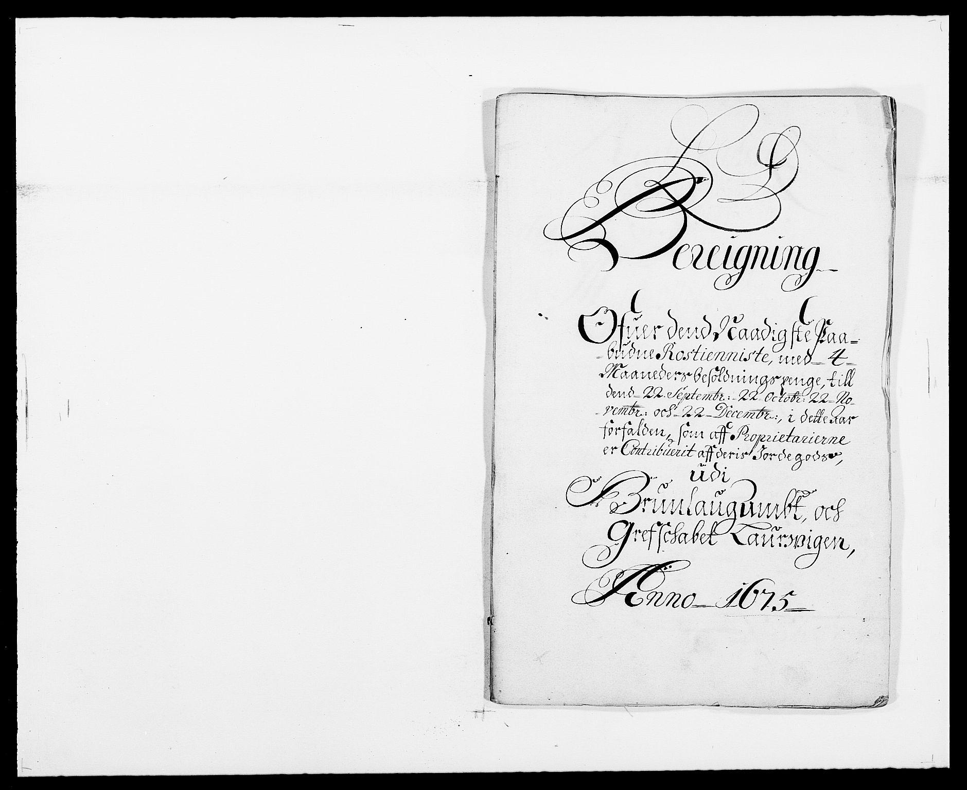 RA, Rentekammeret inntil 1814, Reviderte regnskaper, Fogderegnskap, R33/L1967: Fogderegnskap Larvik grevskap, 1675-1687, s. 173