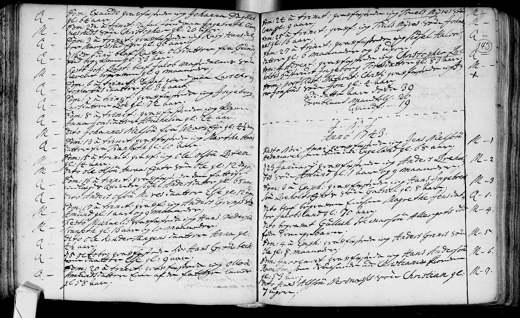 SAKO, Røyken kirkebøker, F/Fa/L0002: Ministerialbok nr. 2, 1731-1782, s. 143