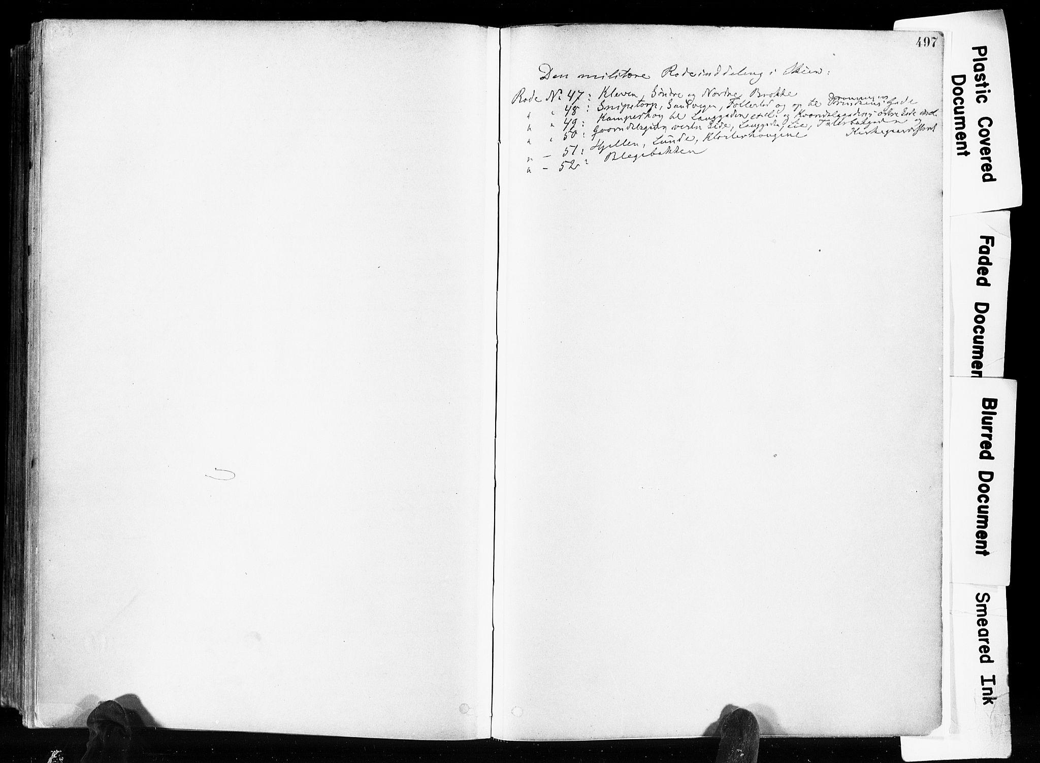 SAKO, Skien kirkebøker, F/Fa/L0009: Ministerialbok nr. 9, 1878-1890, s. 497