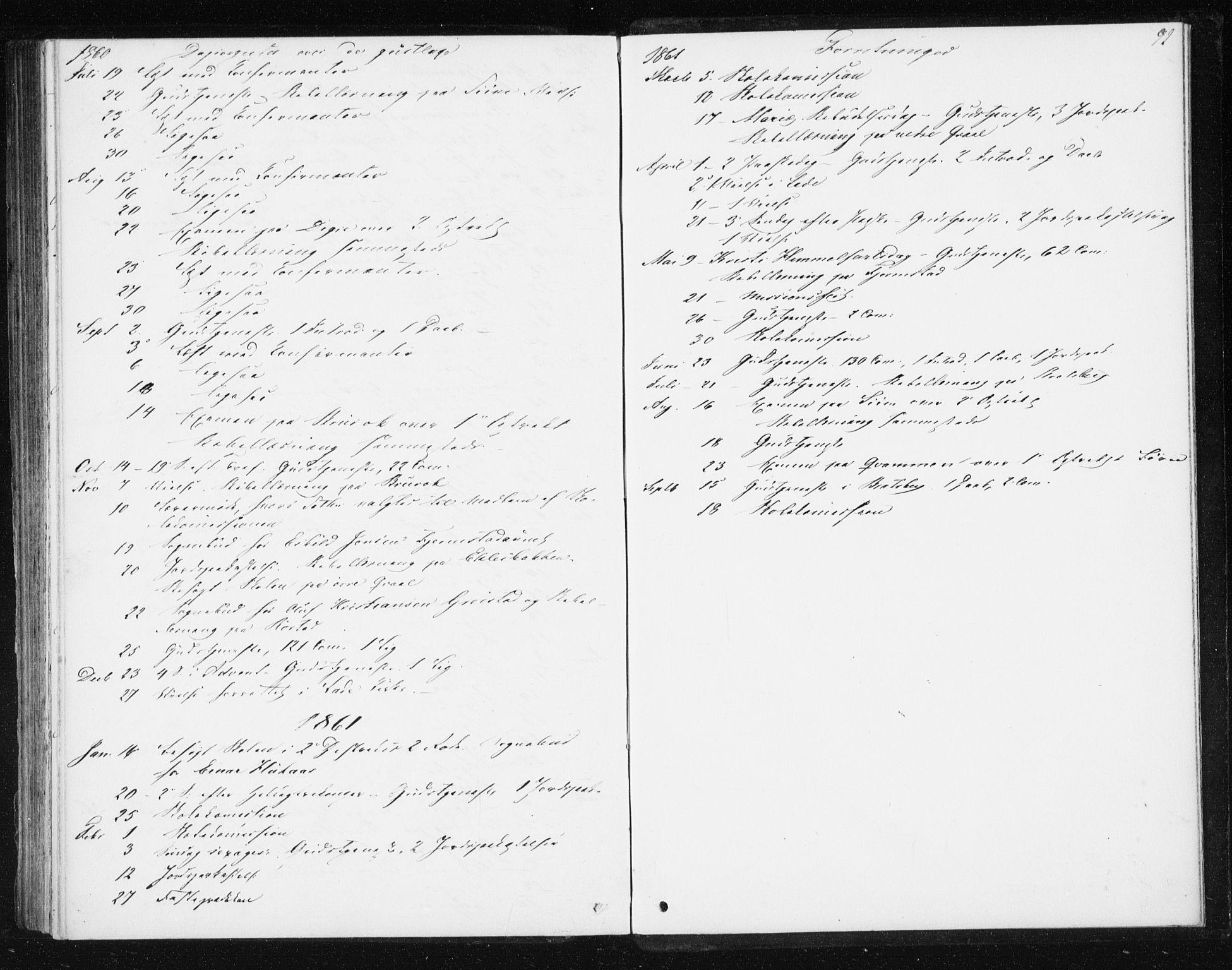 SAT, Ministerialprotokoller, klokkerbøker og fødselsregistre - Sør-Trøndelag, 608/L0332: Ministerialbok nr. 608A01, 1848-1861, s. 92