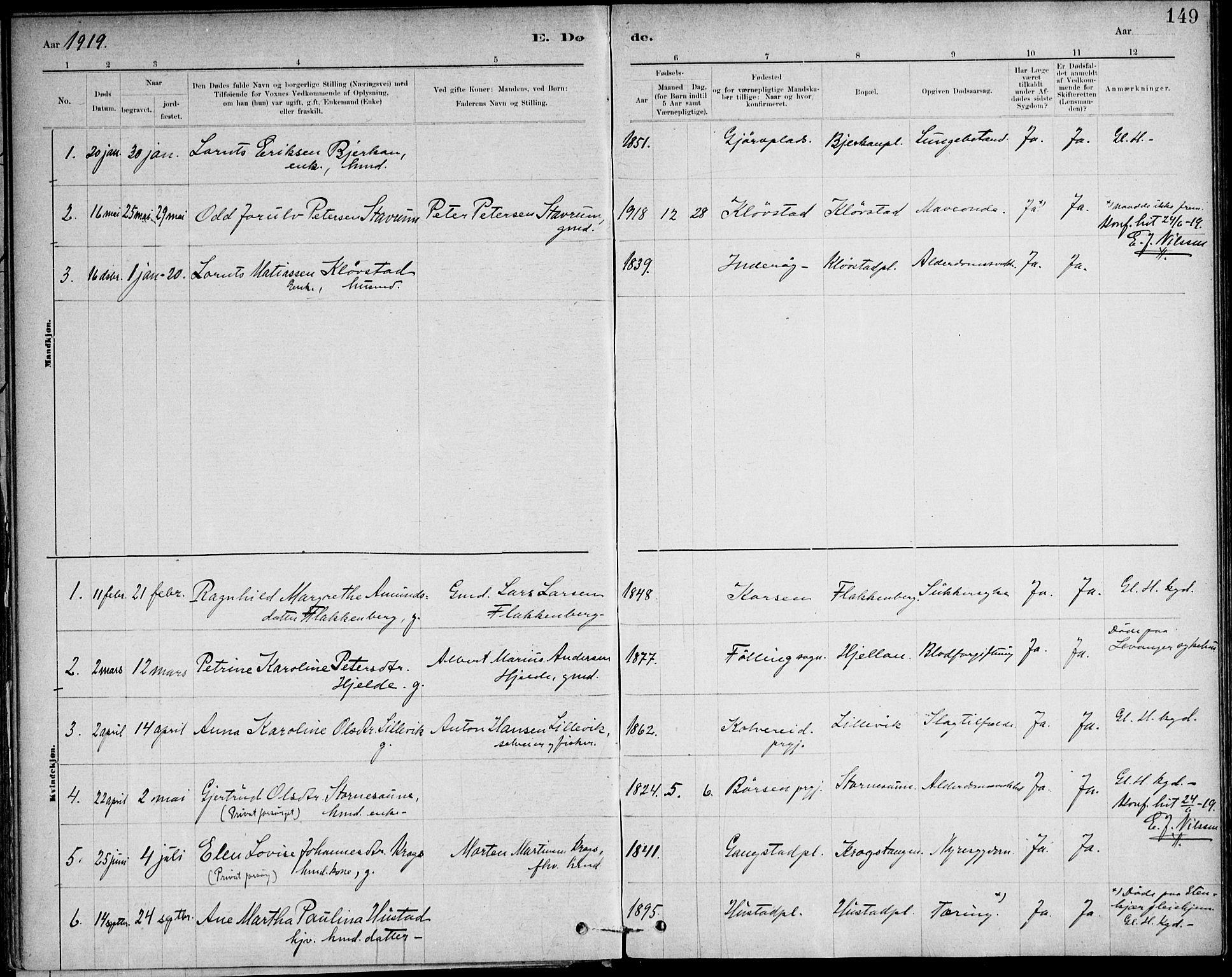 SAT, Ministerialprotokoller, klokkerbøker og fødselsregistre - Nord-Trøndelag, 732/L0316: Ministerialbok nr. 732A01, 1879-1921, s. 149