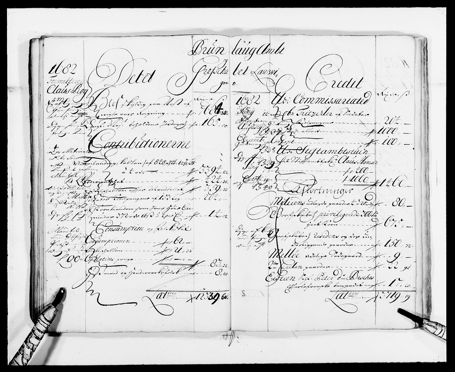 RA, Rentekammeret inntil 1814, Reviderte regnskaper, Fogderegnskap, R33/L1967: Fogderegnskap Larvik grevskap, 1675-1687, s. 55