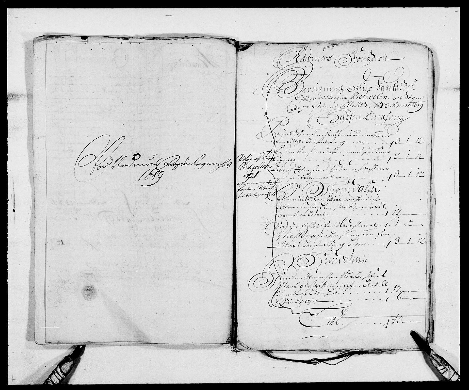 RA, Rentekammeret inntil 1814, Reviderte regnskaper, Fogderegnskap, R56/L3733: Fogderegnskap Nordmøre, 1687-1689, s. 454