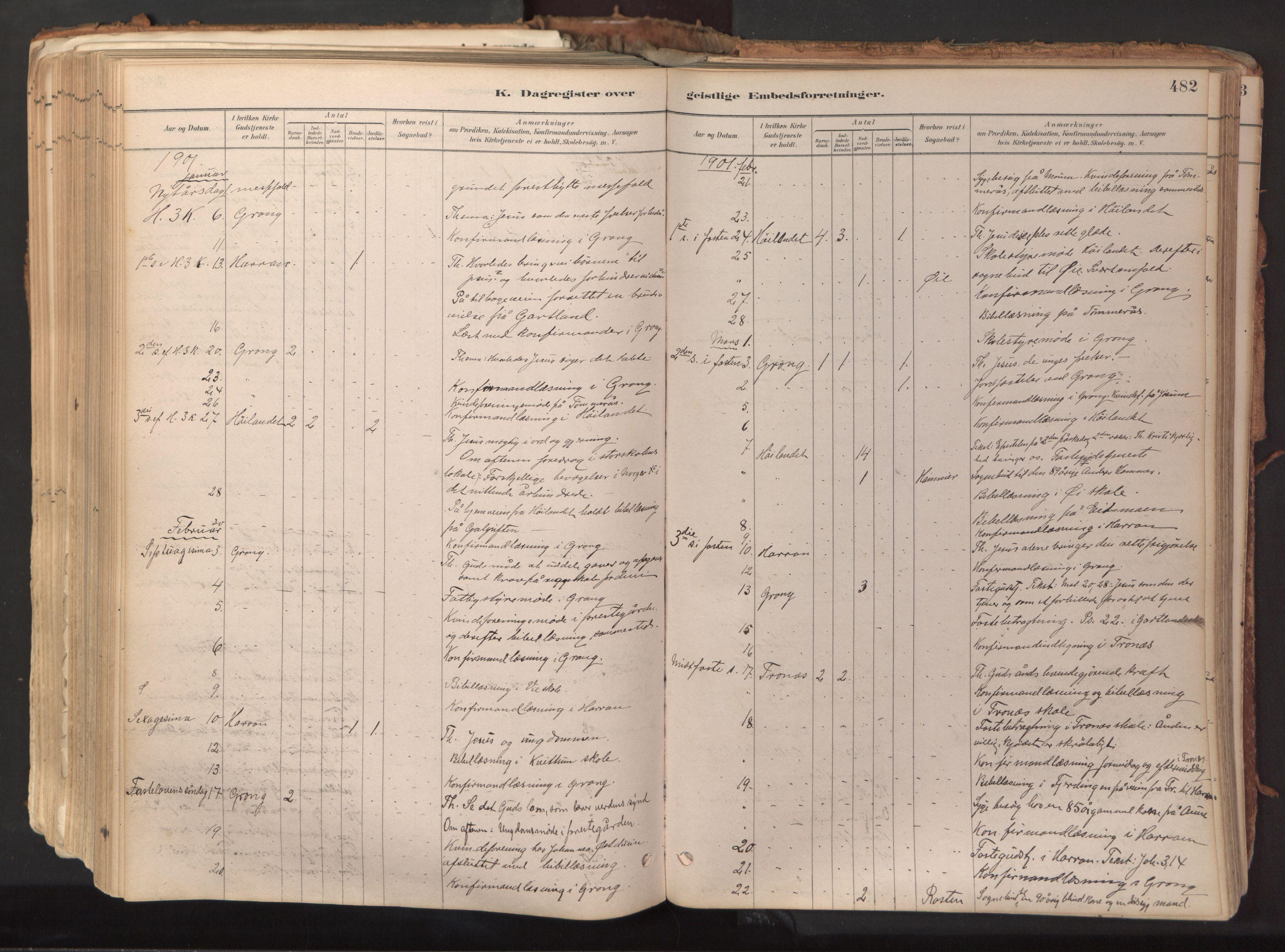 SAT, Ministerialprotokoller, klokkerbøker og fødselsregistre - Nord-Trøndelag, 758/L0519: Ministerialbok nr. 758A04, 1880-1926, s. 482