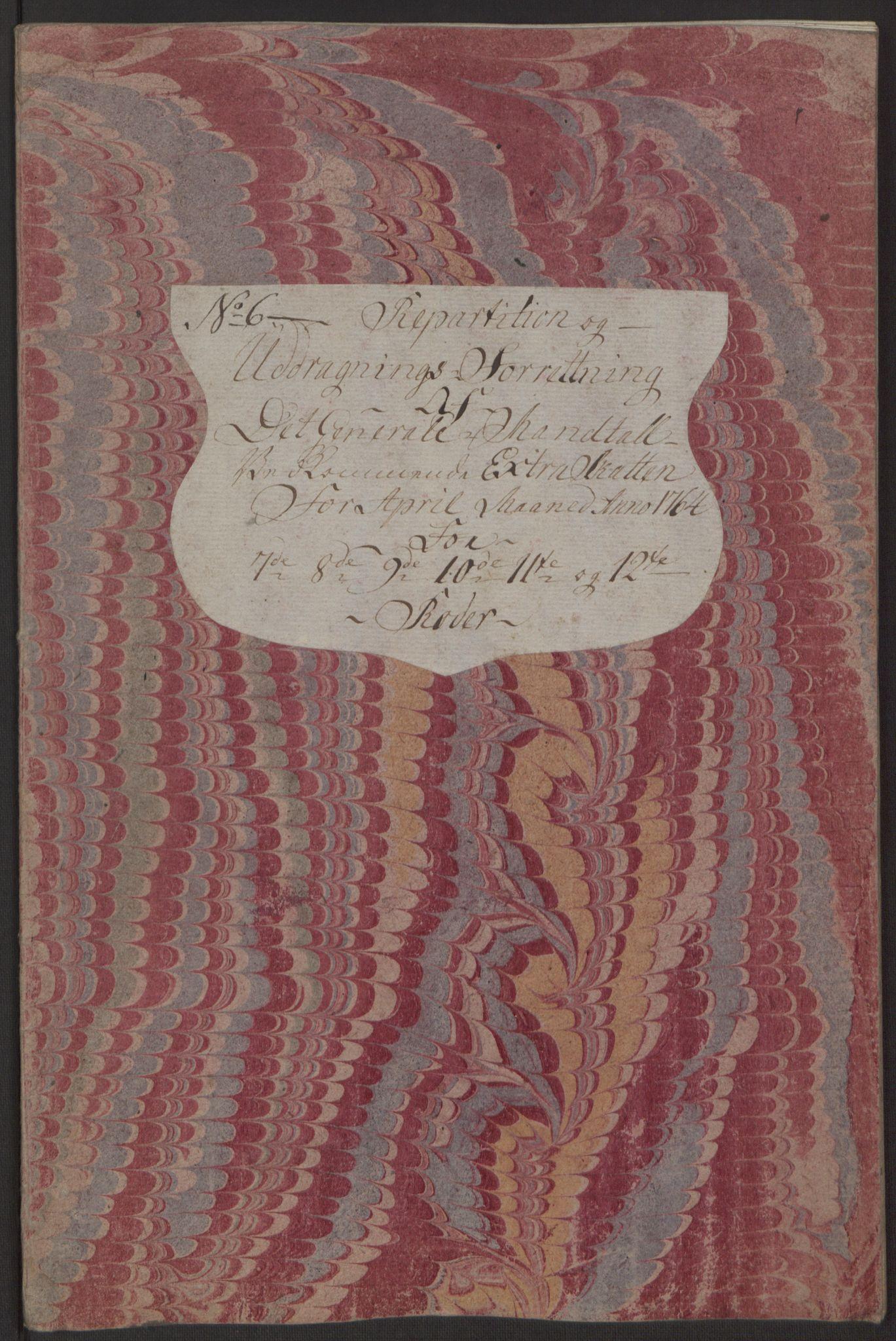 RA, Rentekammeret inntil 1814, Reviderte regnskaper, Byregnskaper, R/Rp/L0367: [P21] Kontribusjonsregnskap, 1764, s. 270